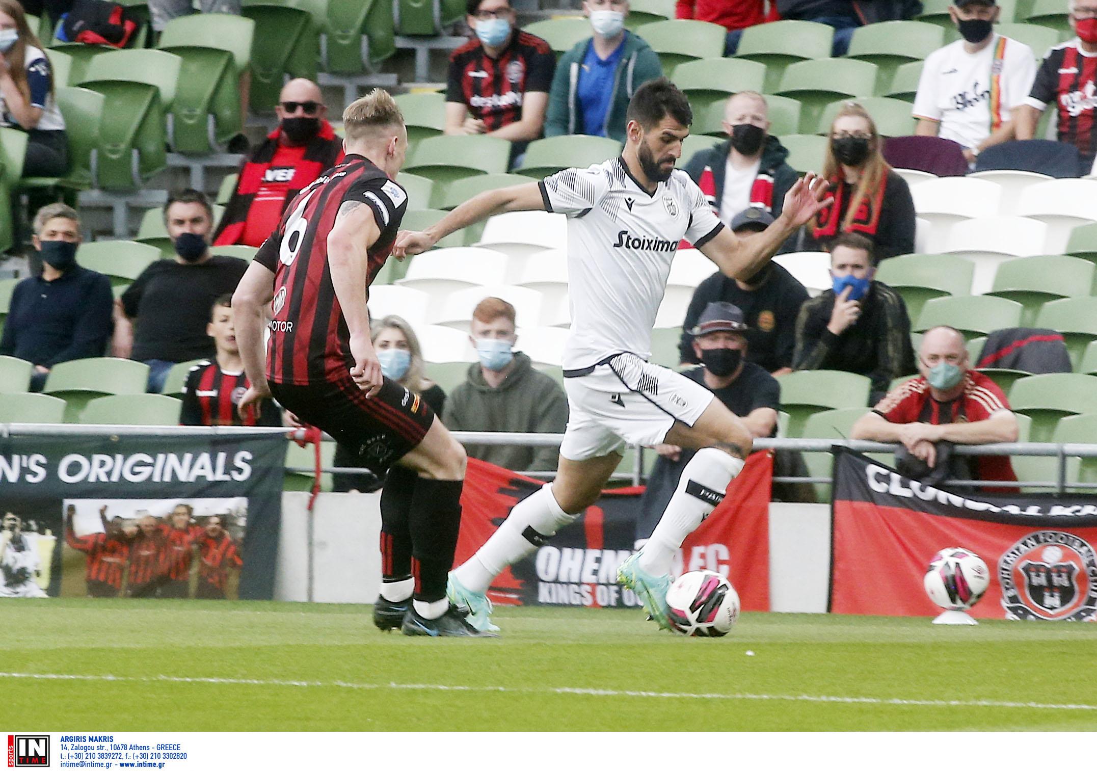 Μποέμιαν – ΠΑΟΚ 2-1 ΤΕΛΙΚΟ για τον 3ο προκριματικό γύρο του Europa Conference League