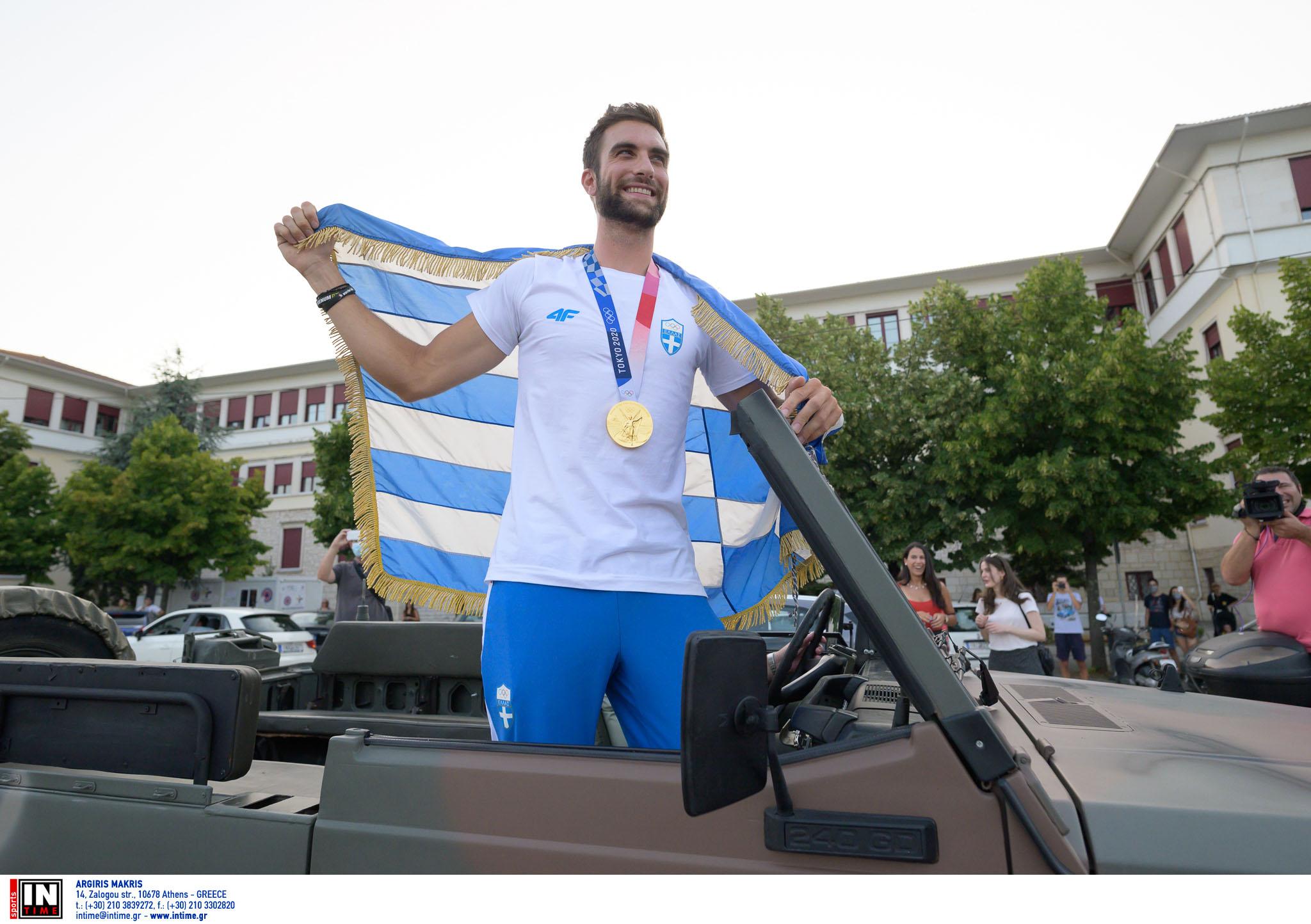 Στέφανος Ντούσκος: Αυτή είναι η κοπέλα που «έκλεψε» την καρδιά του χρυσού Ολυμπιονίκη
