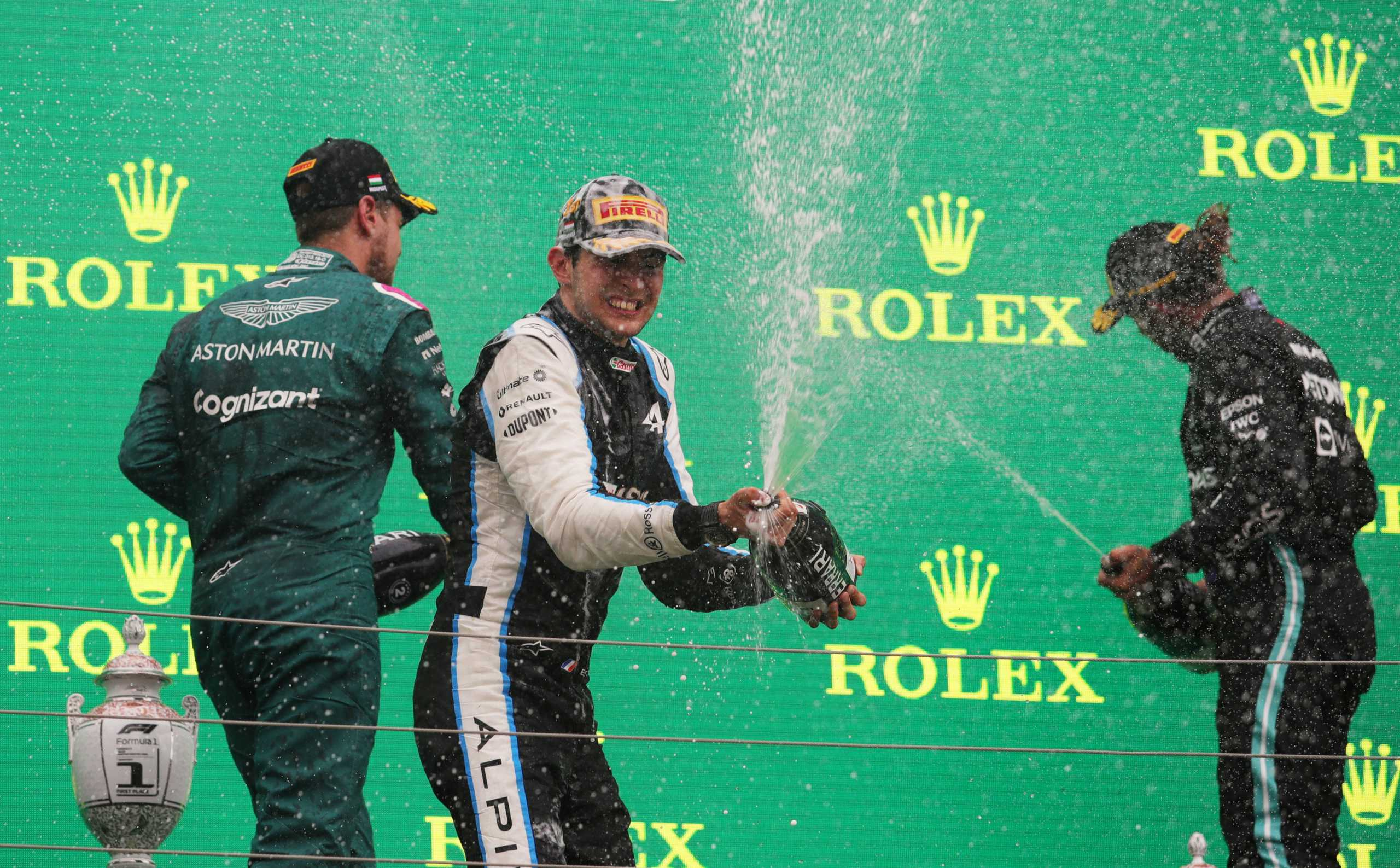 Formula 1: Ιστορική νίκη για Οκόν στο «χάος» του Grand Prix της Ουγγαρίας