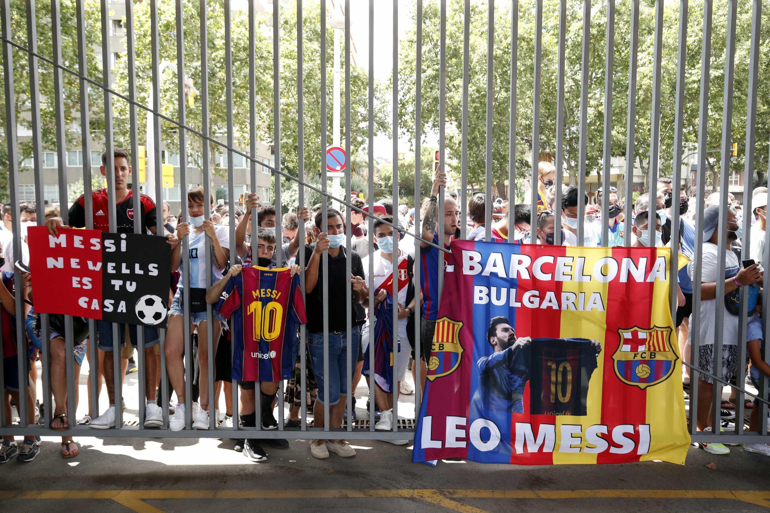Μπαρτσελόνα: «Κράξιμο» οπαδών στον Λαπόρτα – «Φερέφωνο της Ρεάλ, εσύ διακοπές κι ο Μέσι στο Παρίσι»