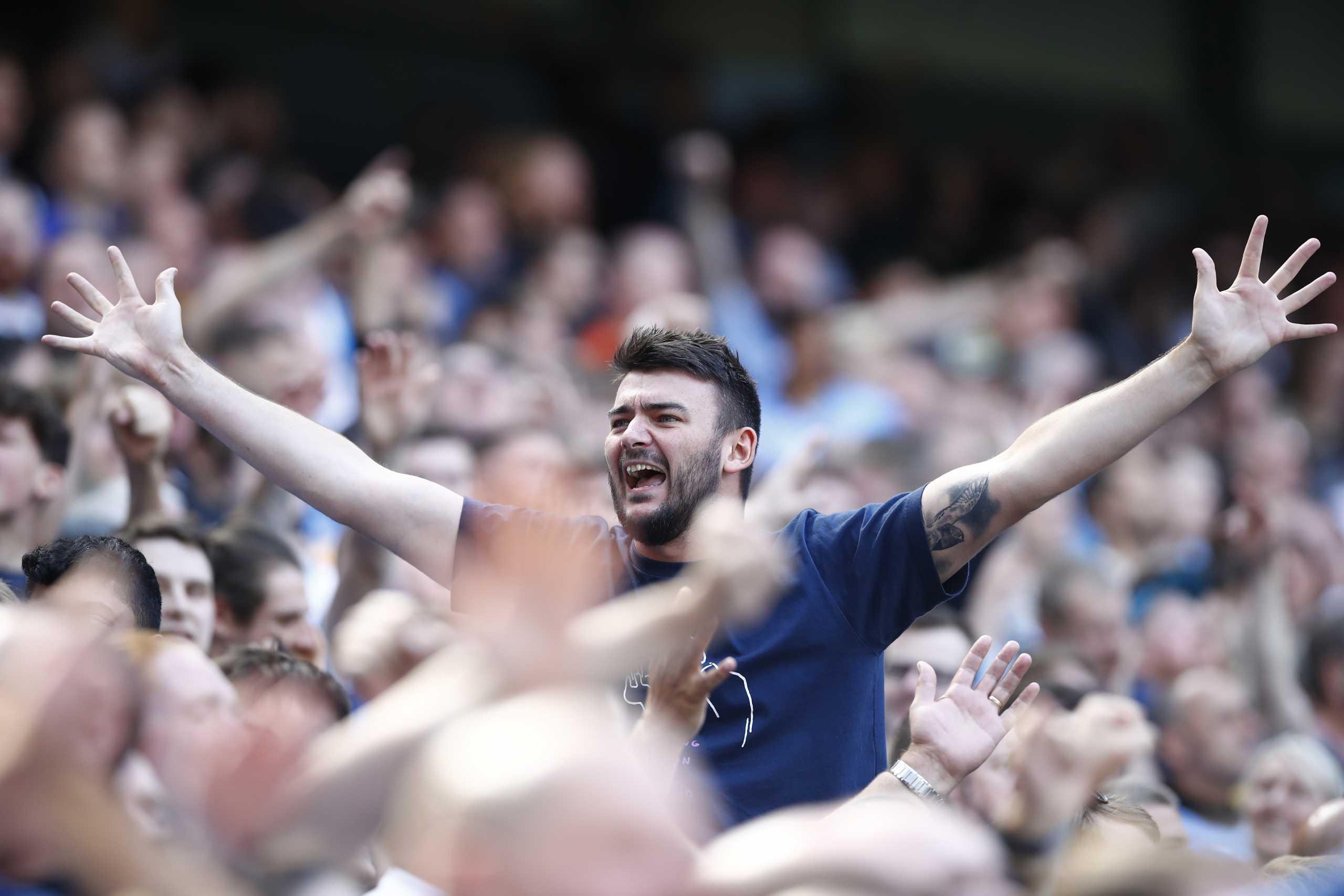 Μάντσεστερ Σίτι – Άρσεναλ: Οι οπαδοί των «κανονιέρηδων» πανηγύρισαν το 4ο γκολ που δέχθηκαν