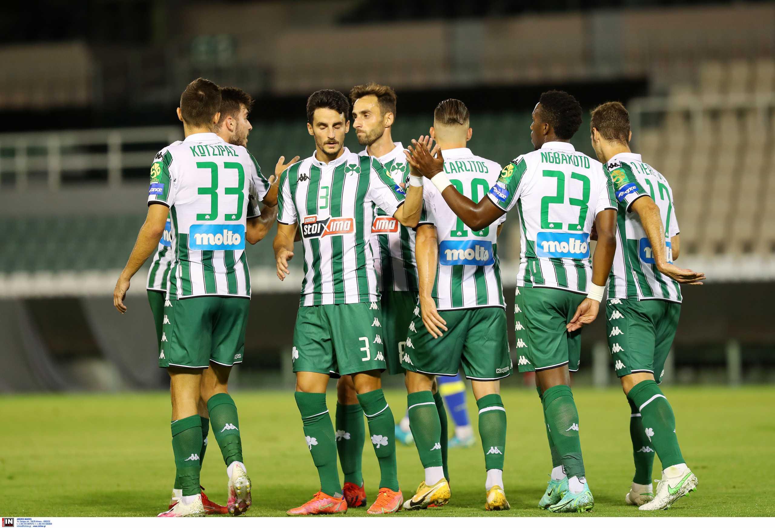 Παναθηναϊκός – Αστέρας Τρίπολης 1-1: Χωρίς νίκη για 8ο σερί φιλικό το «τριφύλλι»