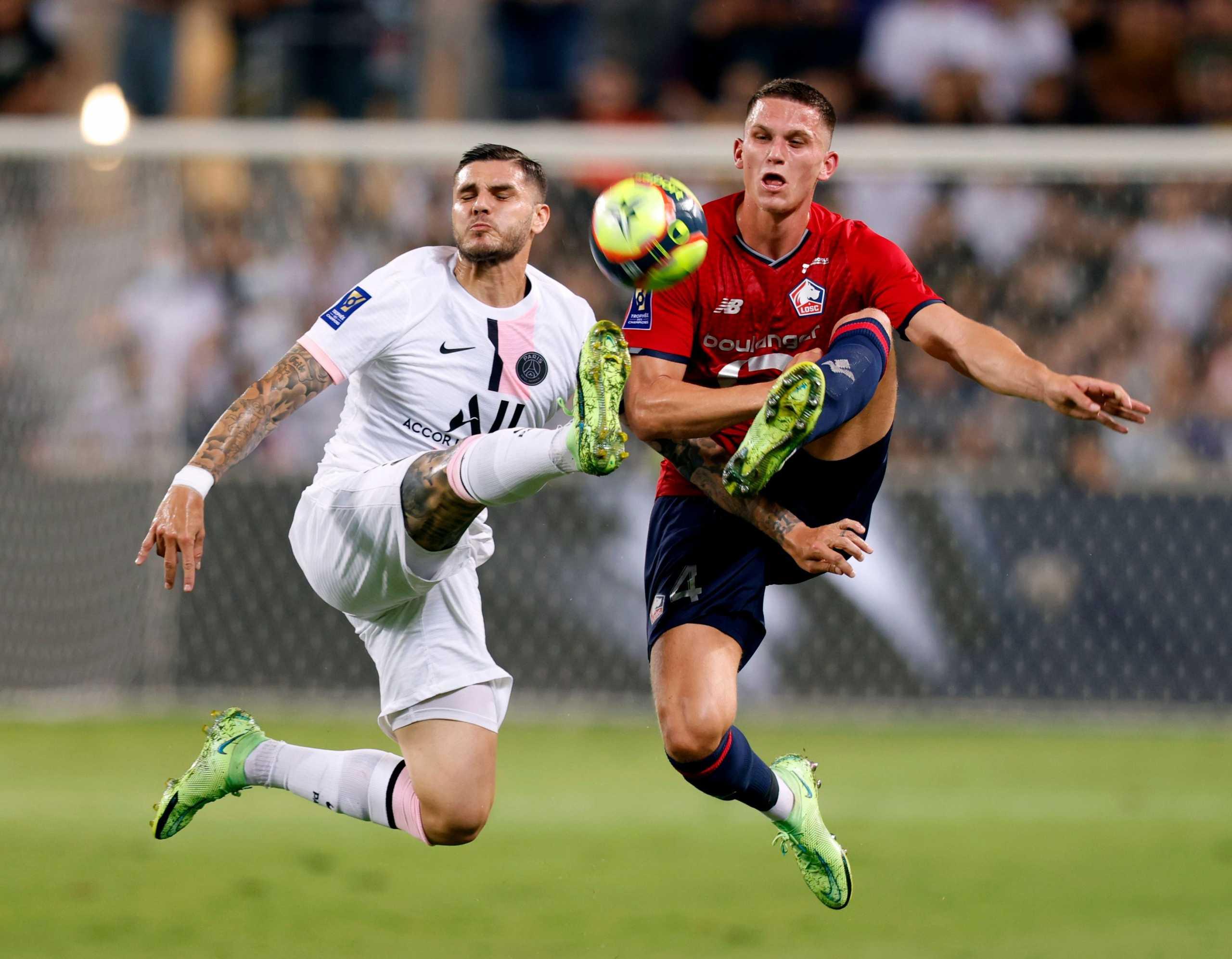 Λιλ – Παρί 1-0: Μετά το πρωτάθλημα της πήρε και το Super Cup Γαλλίας με μια γκολάρα