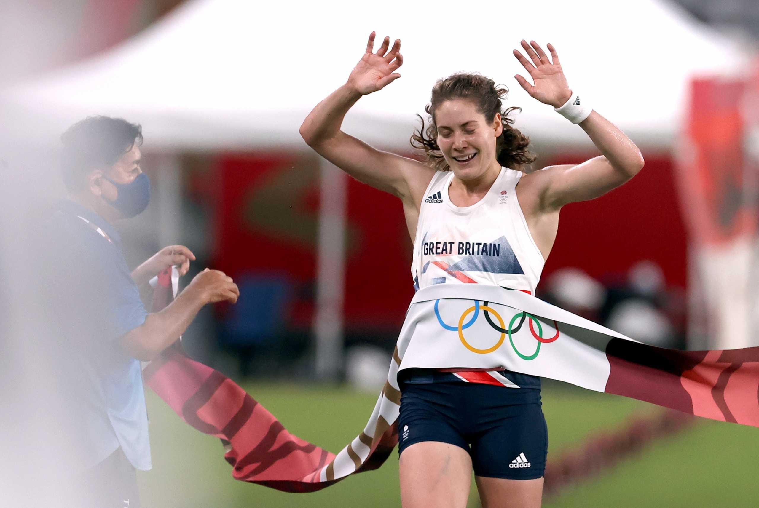 Ολυμπιακοί Αγώνες: «Χρυσή» με Ολυμπιακό ρεκόρ η Κέιτι Φρεντς στο μοντέρνο πένταθλο
