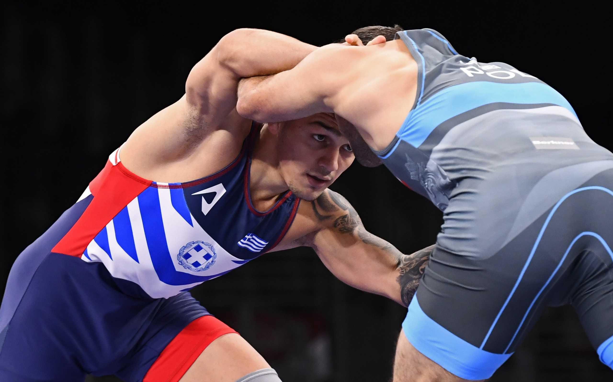 Ολυμπιακοί Αγώνες: Ήττα κι αποκλεισμός για τον Γιώργο Πιλίδη στη κατηγορία 65 κιλών της πάλης