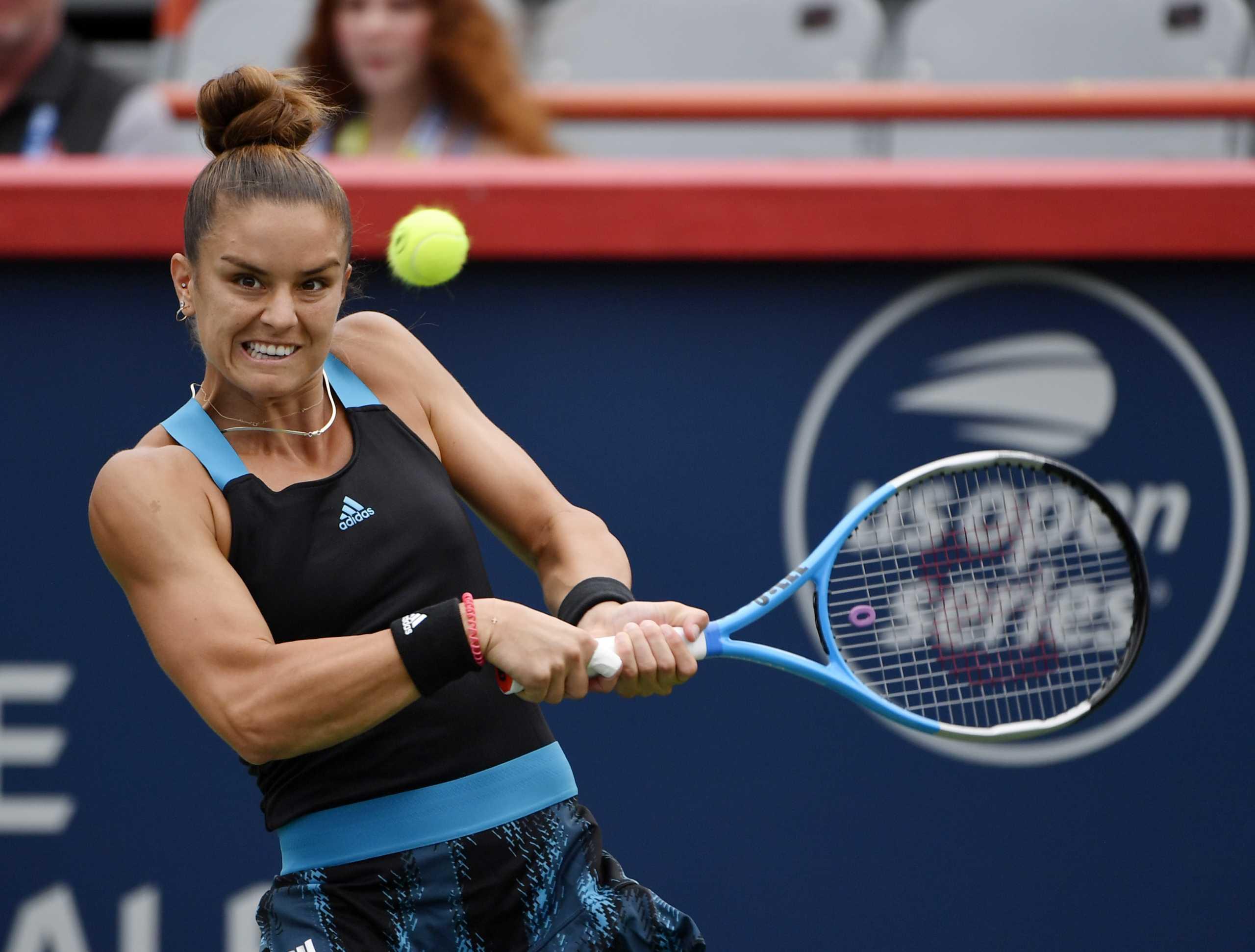 Μάρτα Κόστγιουκ – Μαρία Σάκκαρη 0-2: Προκρίθηκε στο δεύτερο γύρο του US Open