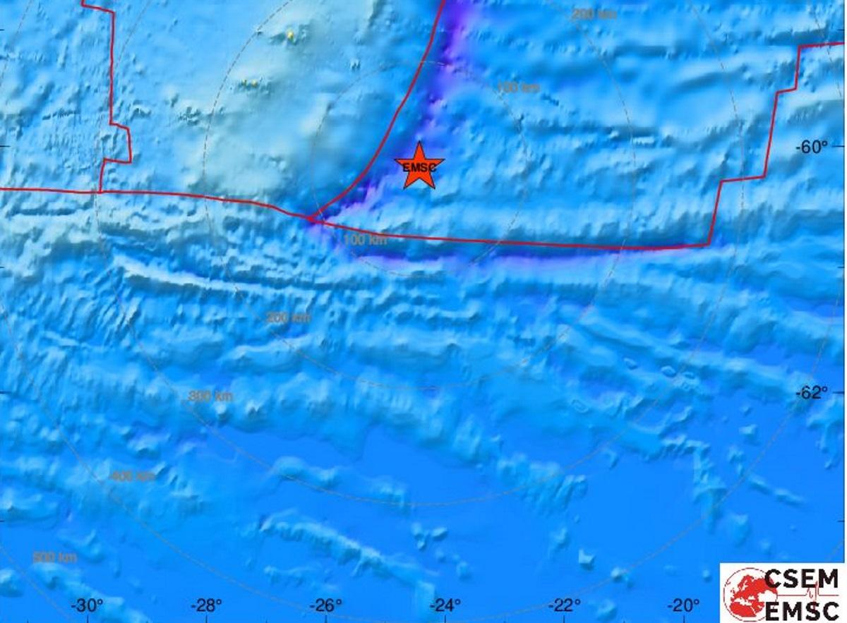 Σεισμός 6,9 ρίχτερ στις Νήσους Νότιες Σάντουιτς