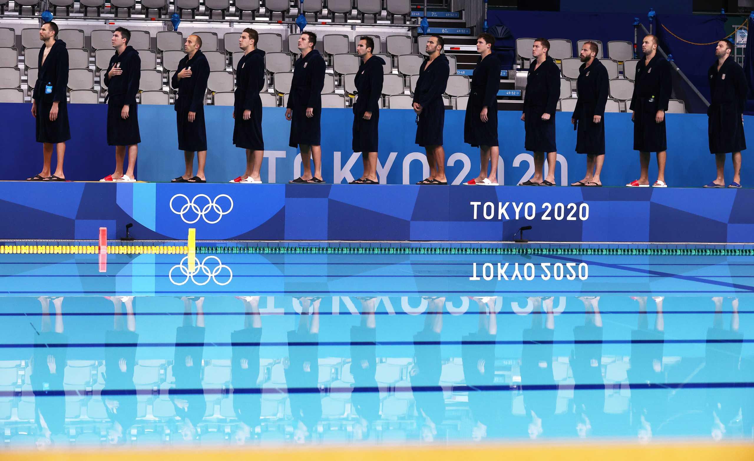 Η Εθνική πόλο ανδρών κόντρα στη Σερβία στον τελικό για το χρυσό στους Ολυμπιακούς Αγώνες