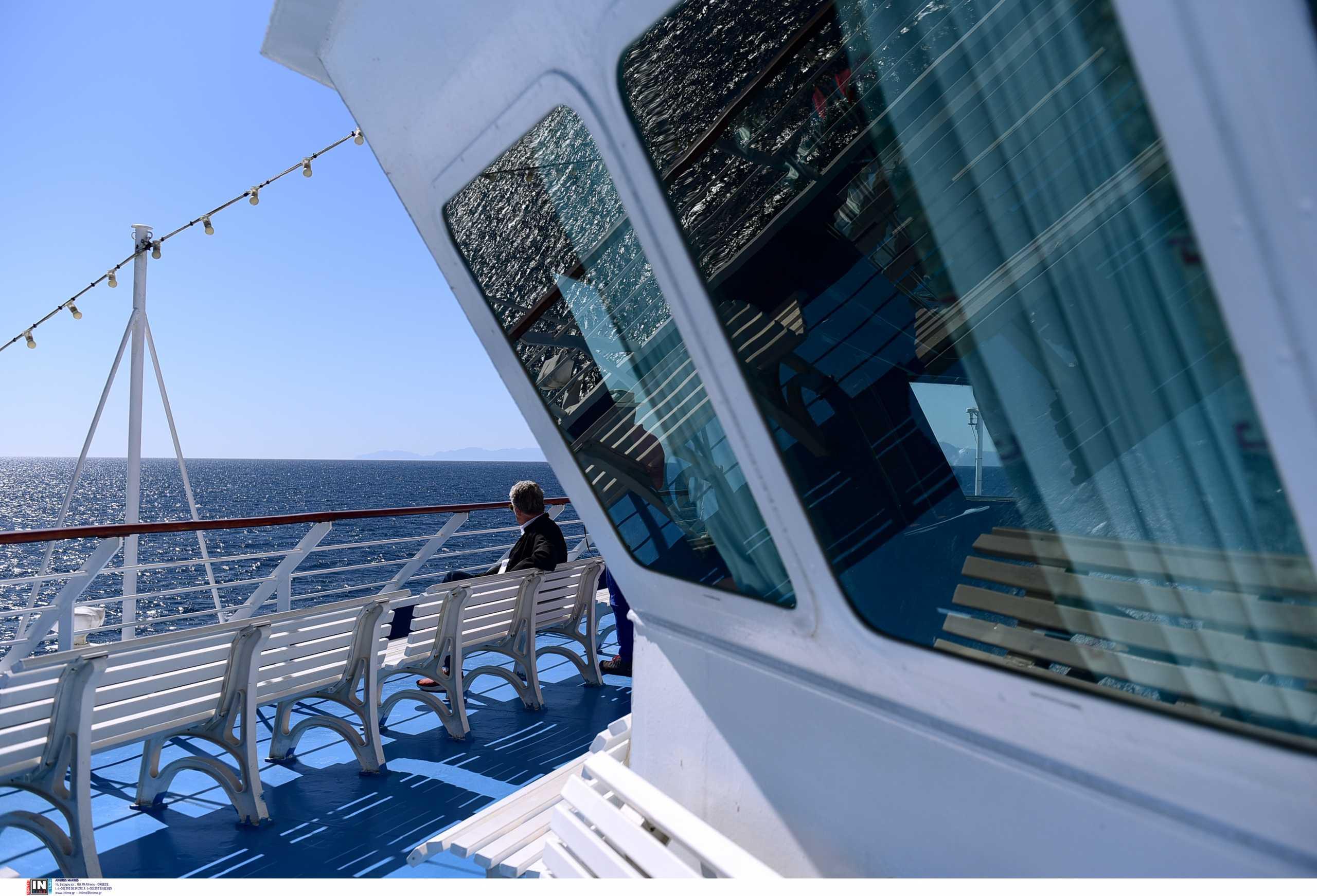 Θετικά στον κορονοϊό επτά μέλη του πληρώματος πλοίου που κάνει δρομολόγια για Σποράδες