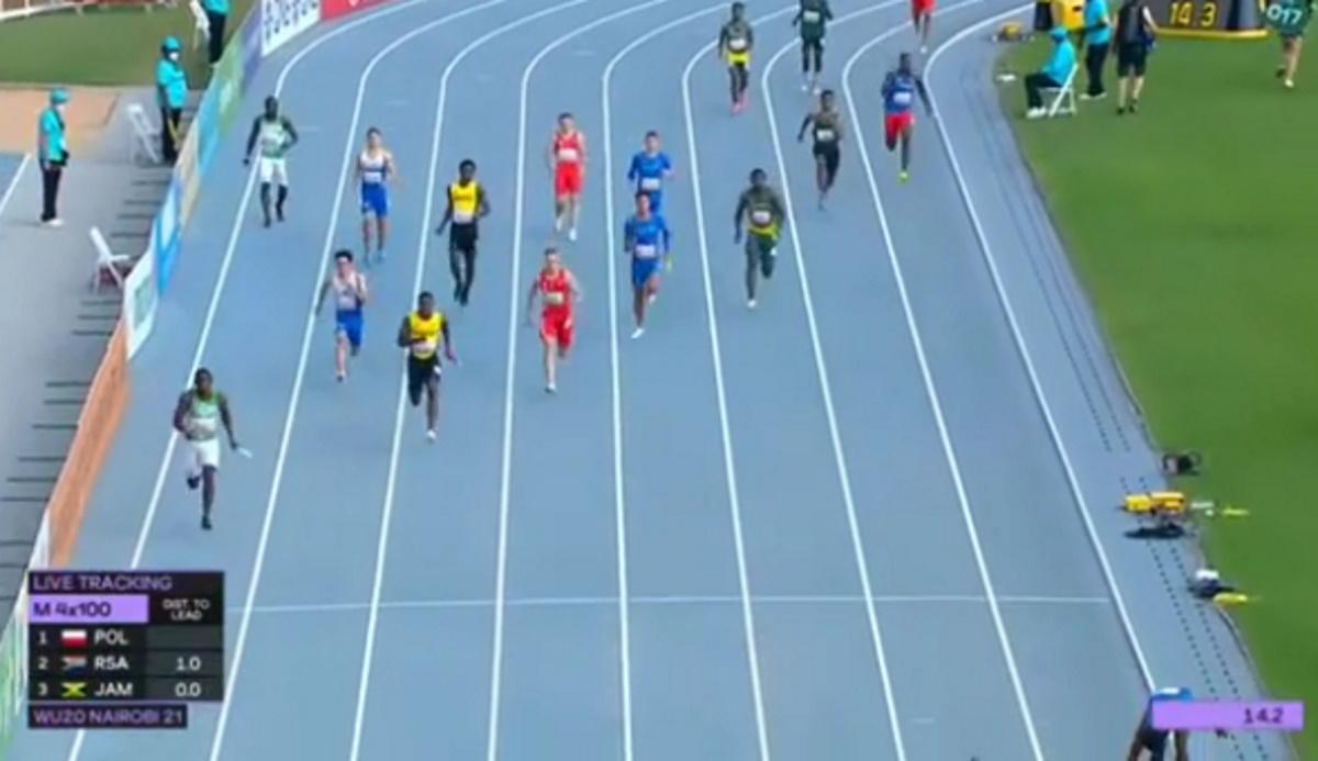 Παγκόσμιο Κ20: Έκτη θέση και πανελλήνιο ρεκόρ για τη φοβερή τετράδα της 4Χ100 μ.