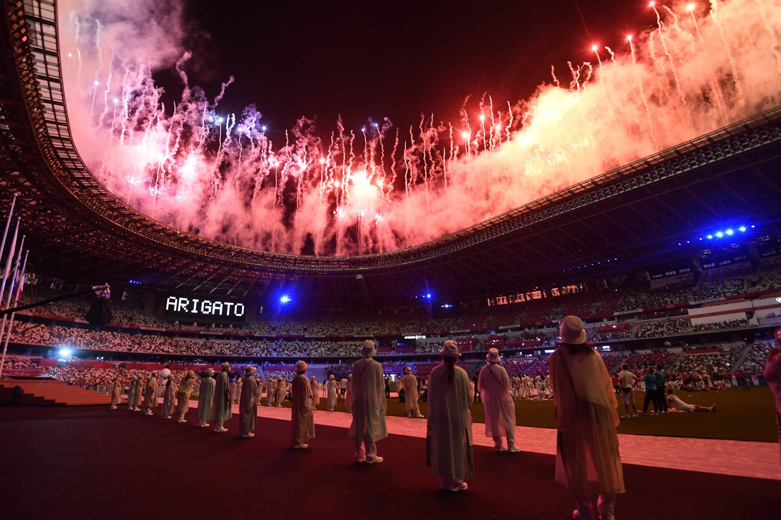 Ολυμπιακοί Αγώνες: Όσα έγιναν στην Τελετή Λήξης στο Τόκιο