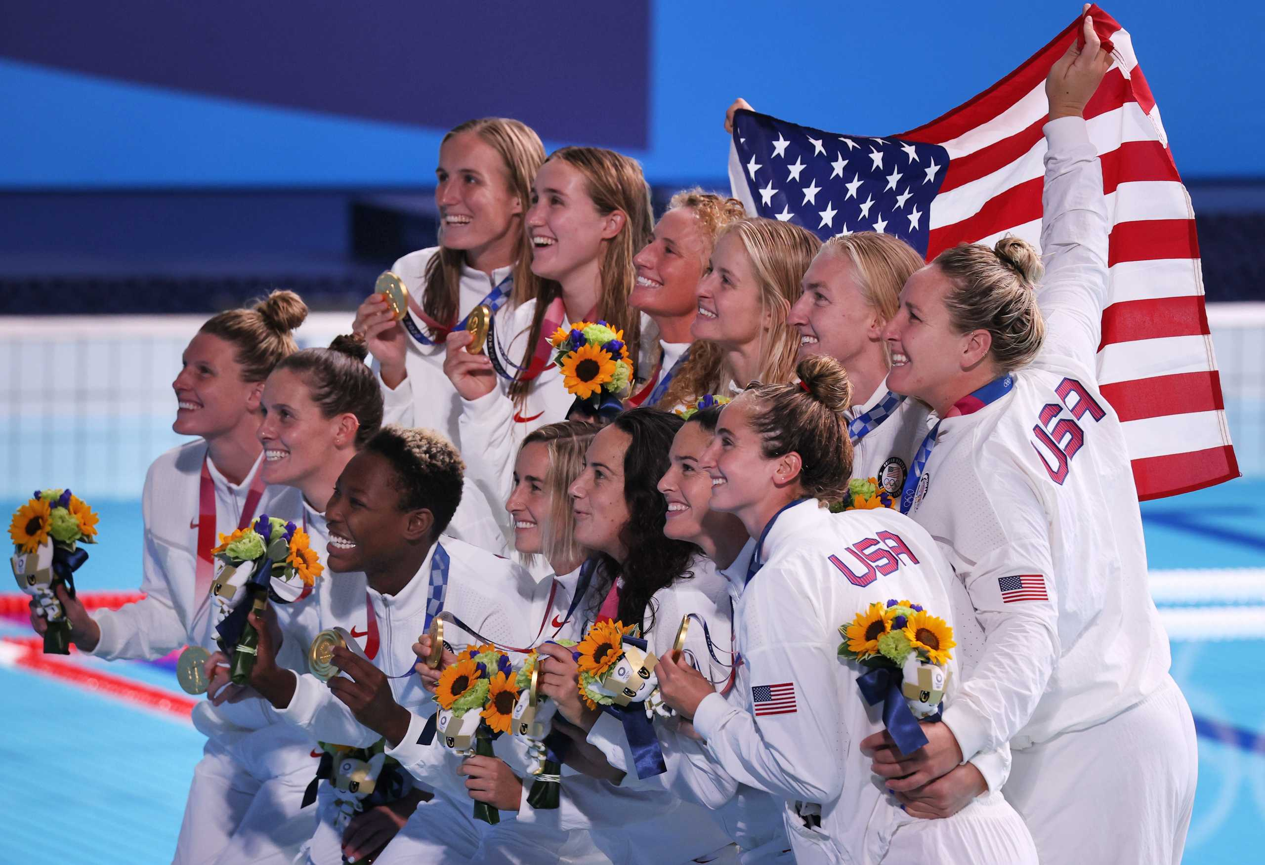 Ολυμπιακοί Αγώνες: Τρίτο σερί χρυσό μετάλλιο οι ΗΠΑ στο γυναικείο πόλο με επίδειξη δύναμης