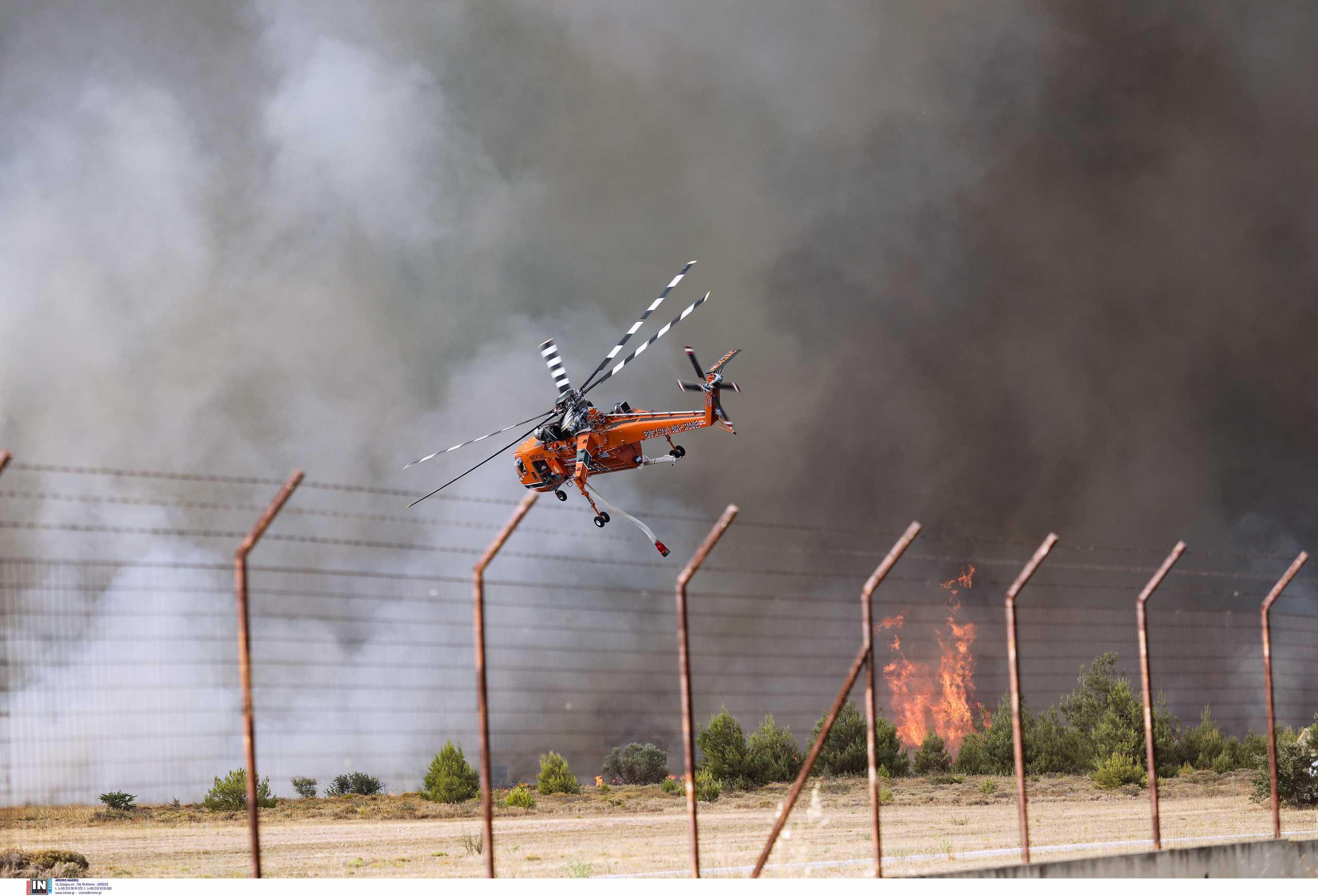 Φωτιά στη Βαρυμπόμπη: Κίνδυνος να μείνει χωρίς ρεύμα η Ανατολική Αττική – Έκτακτη σύσκεψη στον ΑΔΜΗΕ