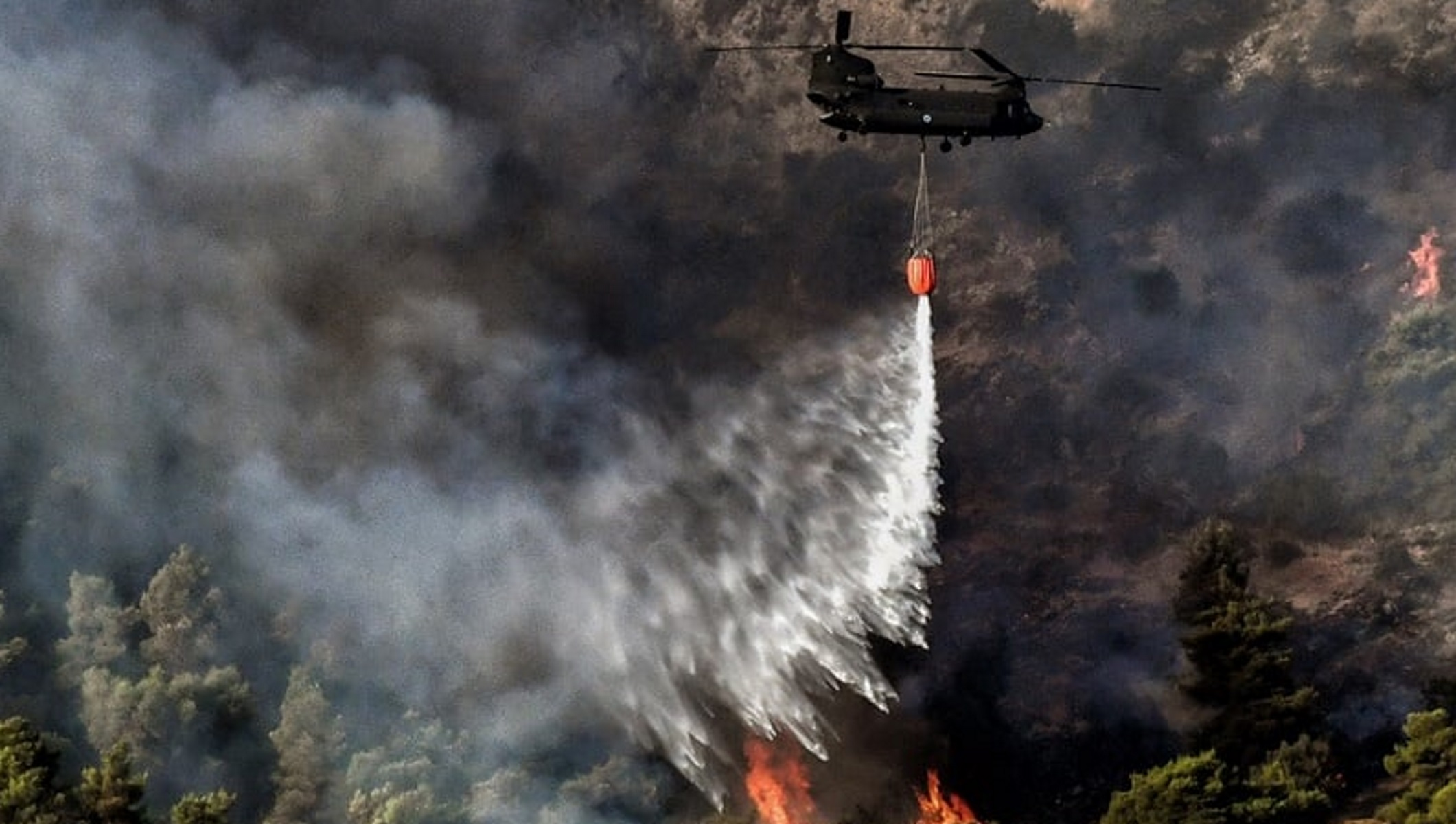 Φωτιές: Ακραίος κίνδυνος πυρκαγιάς σε Αττική και Εύβοια