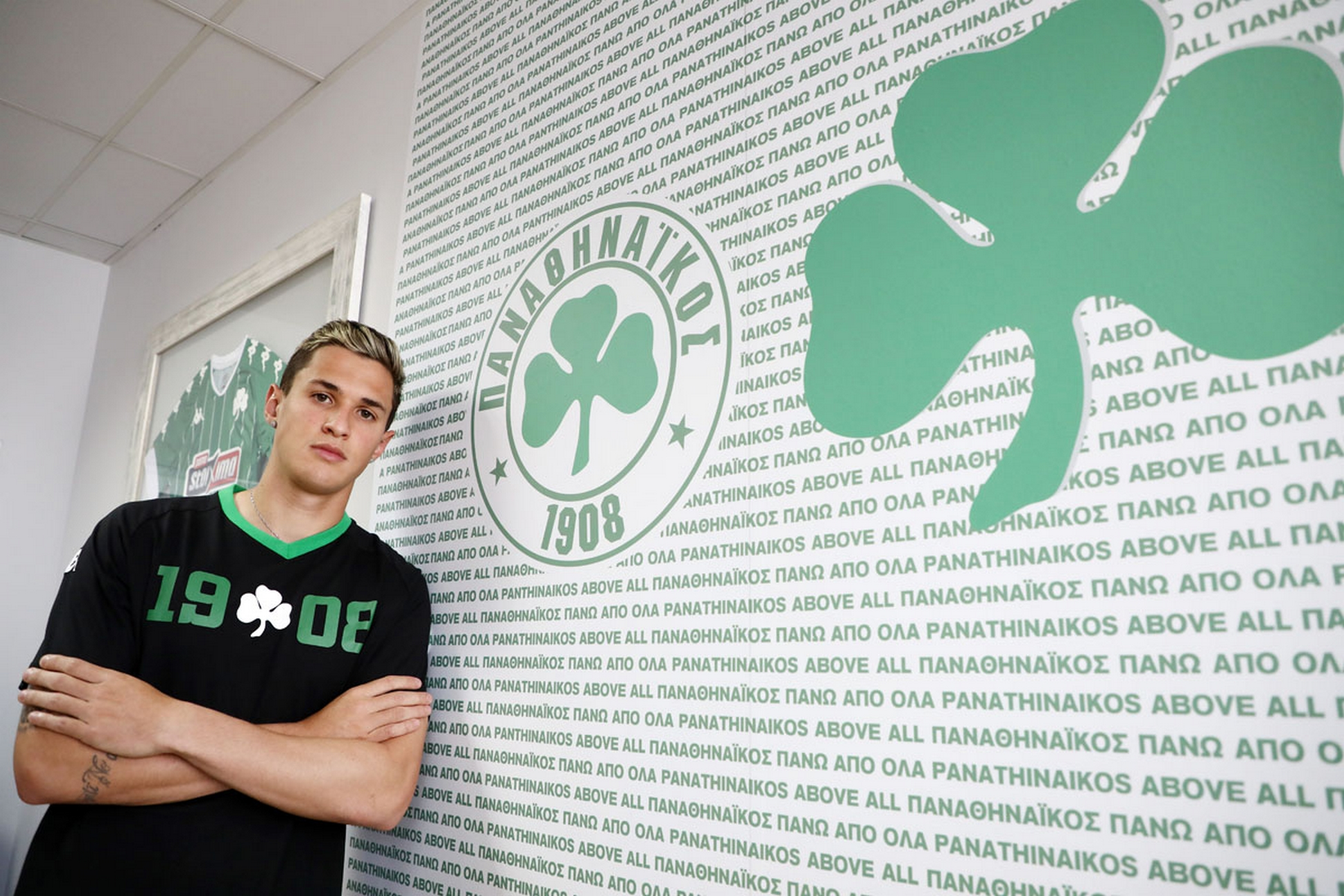 Παναθηναϊκός – Βιτάλ: «Ήταν όνειρό μου να βρεθώ σε έναν τέτοιο μεγάλο σύλλογο της Ευρώπης»