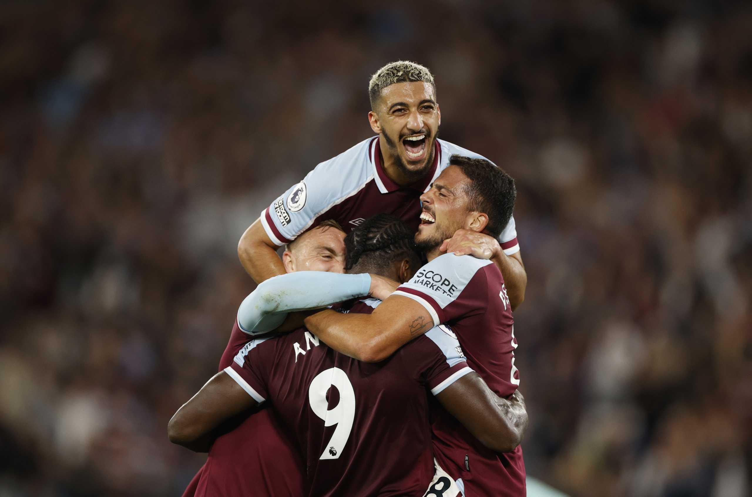 Γουέστ Χαμ – Λέστερ 4-1: Με νέα «τεσσάρα» τα σφυριά στην κορυφή της Premier League
