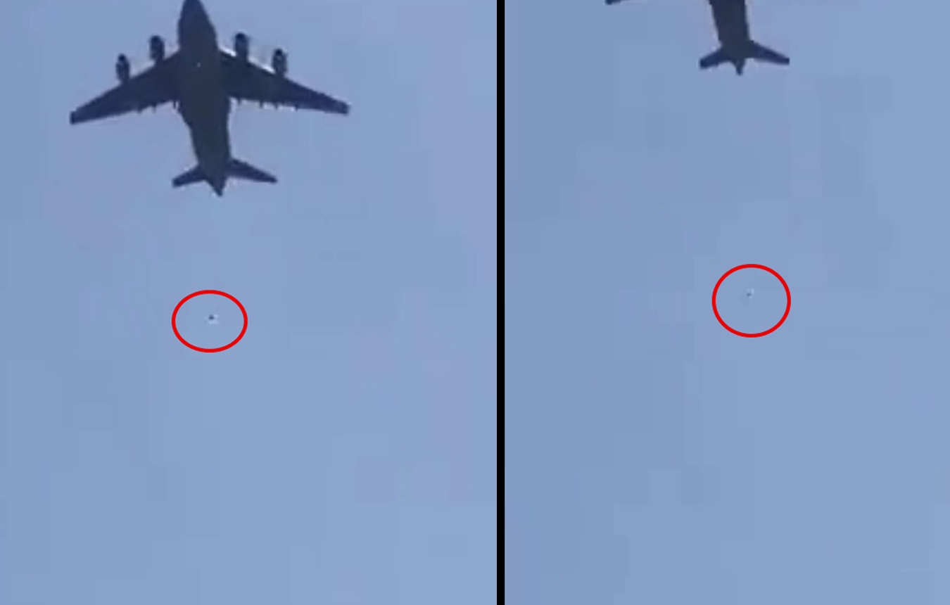 Αφγανιστάν – Βίντεο σοκ: Γραπώθηκαν στους τροχούς αεροπλάνου για να φύγουν κι έπεσαν στο κενό