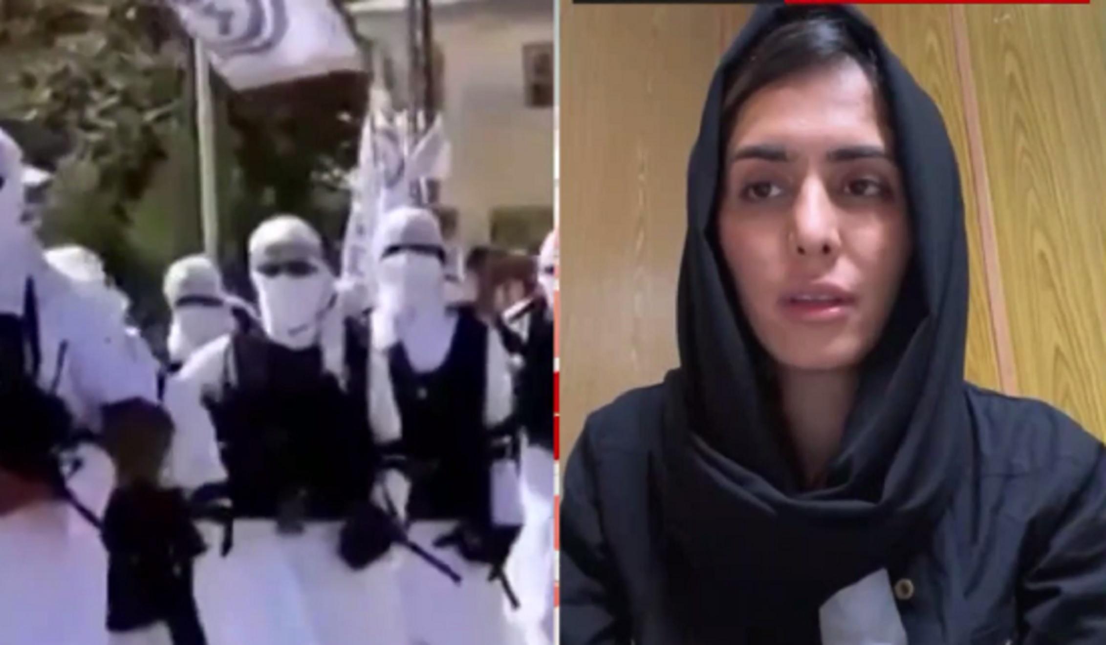 Αφγανιστάν: «Λάβαμε μήνυμα 2 ώρες πριν την επίθεση στη Καμπούλ» – Τι λέει στο Mega η γυναίκα σύμβολο κατά των Ταλιμπάν