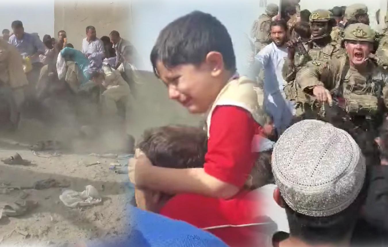 Αφγανιστάν: Χωρίς τέλος οι εικόνες απόγνωσης στο αεροδρόμιο – Συνωστισμός για να γλιτώσουν από τους Ταλιμπάν