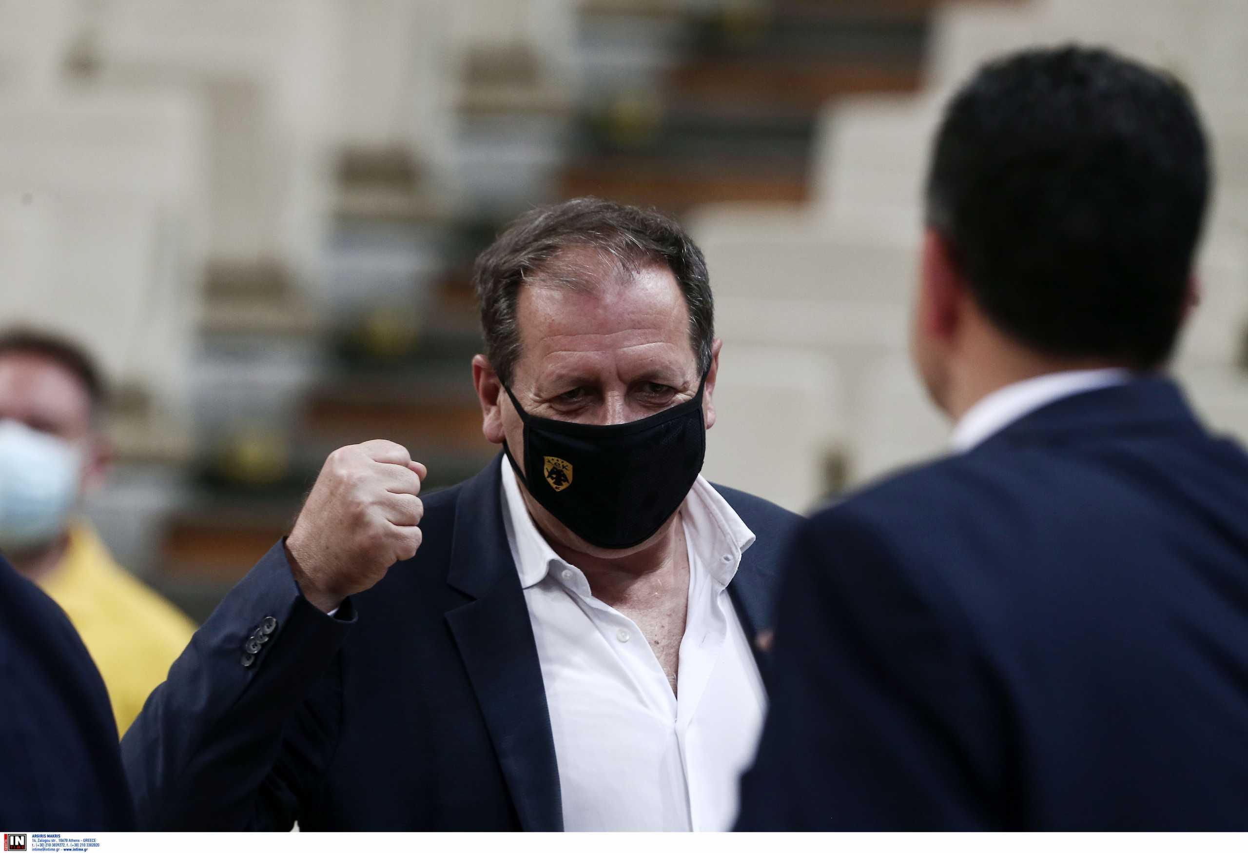 ΑΕΚ – Μάκης Αγγελόπουλος: «Τις επόμενες μέρες θα λυθεί οριστικά το θέμα των ban»
