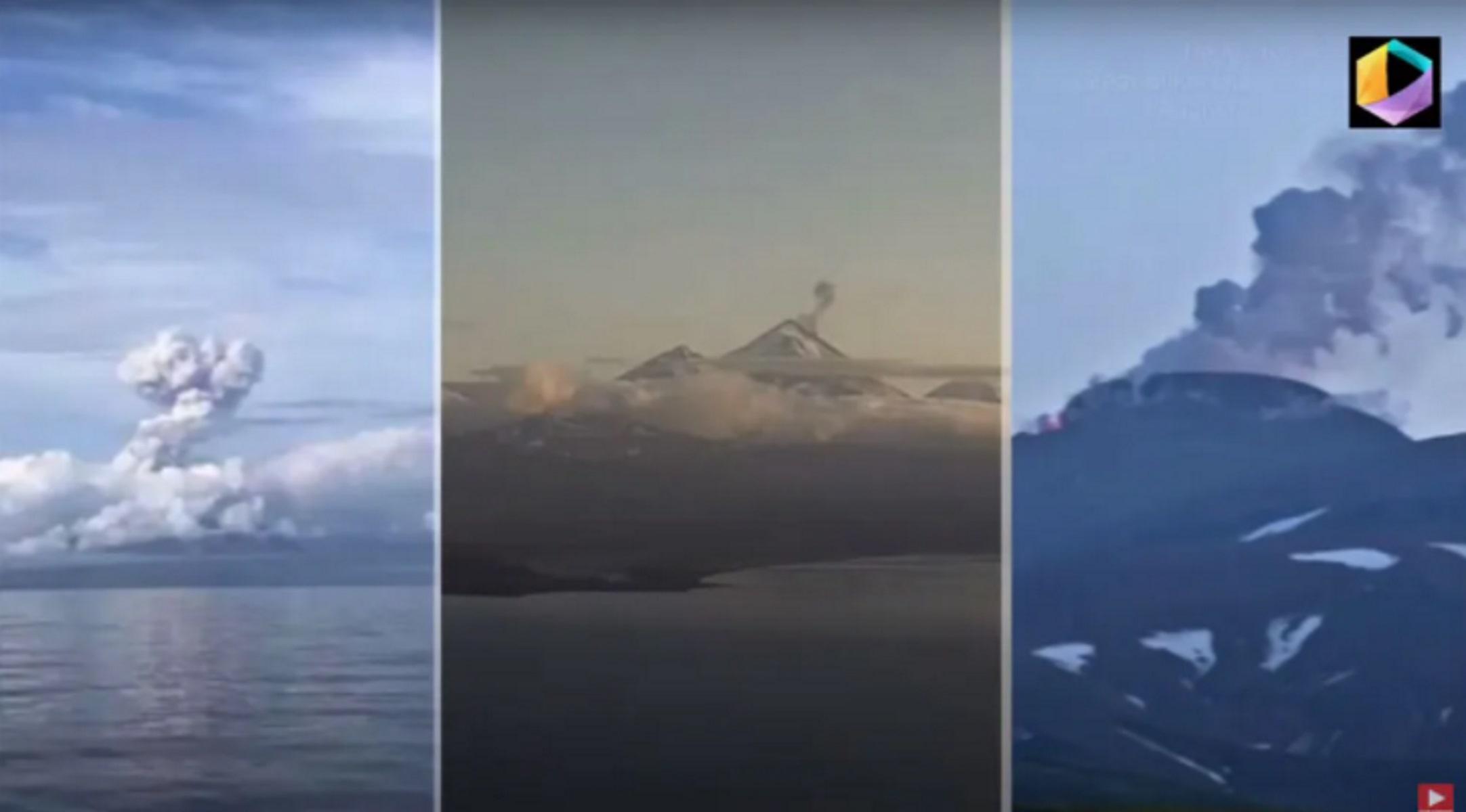 Ανησυχητικό φαινόμενο στην Αλάσκα: Τρία ηφαίστεια εκρήγνυνται ταυτόχρονα