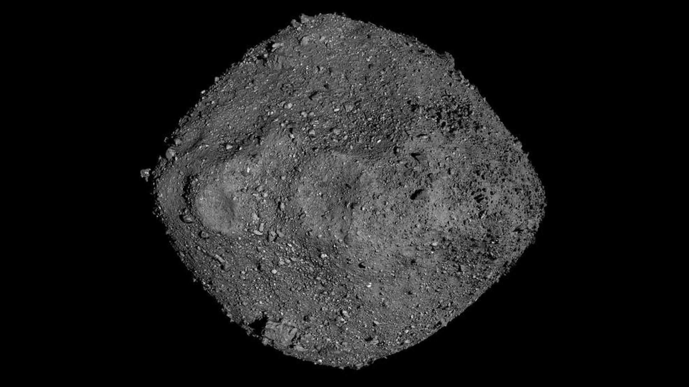Νέες εκτιμήσεις για την πιθανότητα ο αστεροειδής Μπενού να πέσει στην Γη