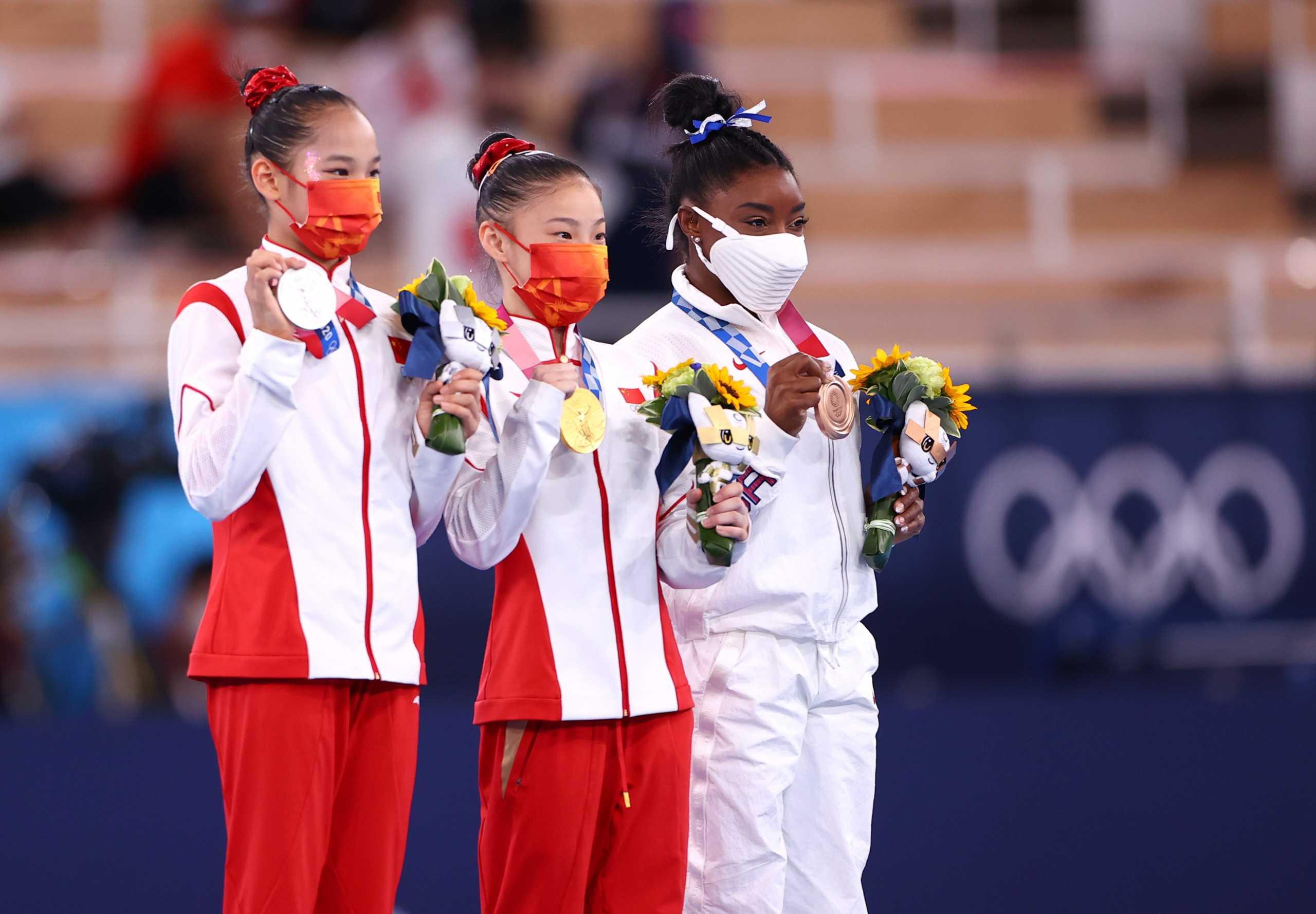 Ολυμπιακοί Αγώνες: Χάλκινο μετάλλιο για την Μπάιλς στην επιστροφή της, το χρυσό η Κινέζα, Τανγκ