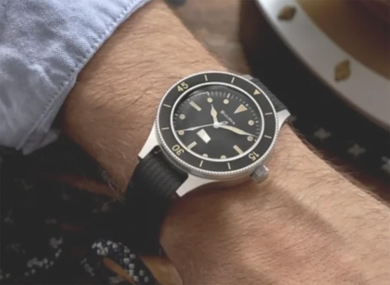 Η Bulova κυκλοφόρησε ένα ρολόι που δημιουργήθηκε για το Πολεμικό Ναυτικό των Η.Π.Α
