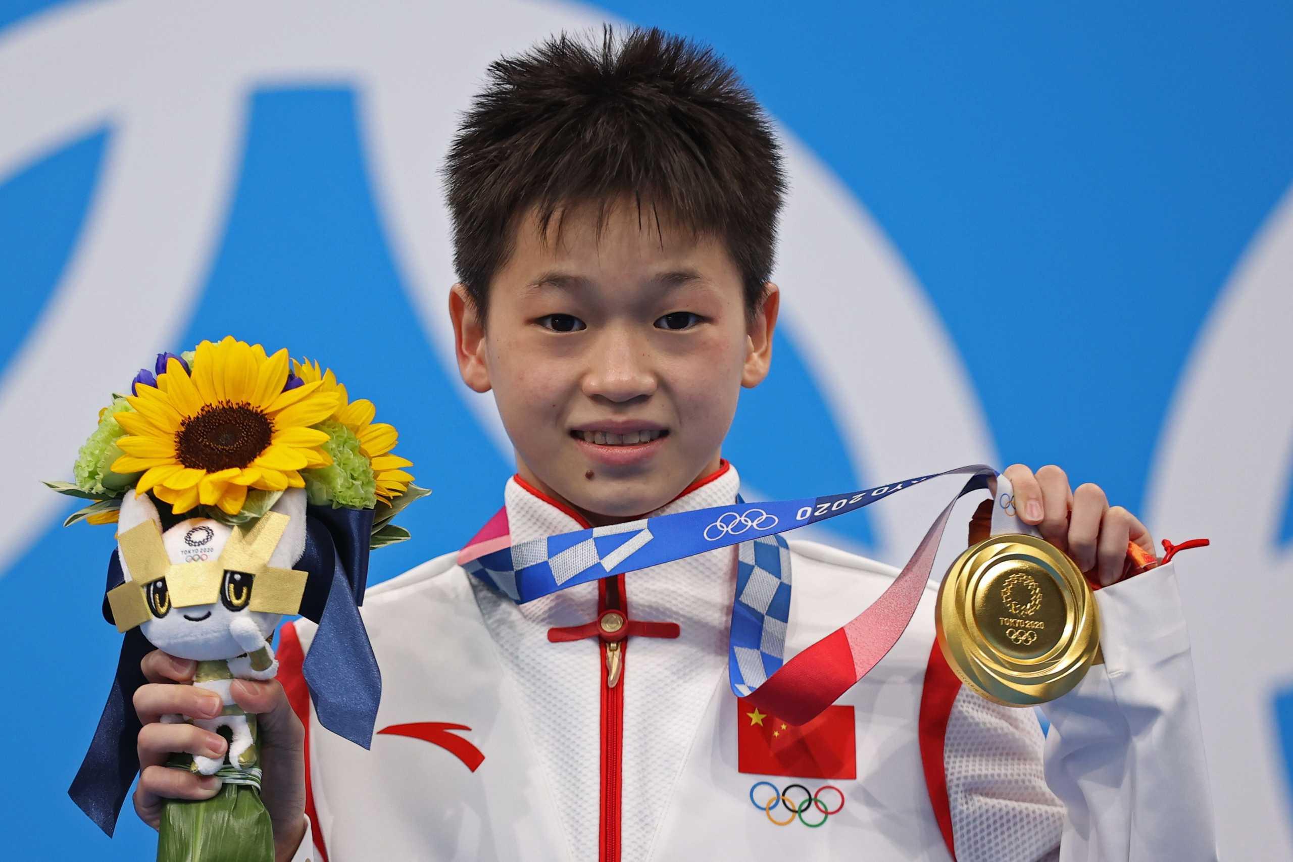 Ολυμπιακοί Αγώνες – Καταδύσεις: Χρυσή ολυμπιονίκης, ετών 14