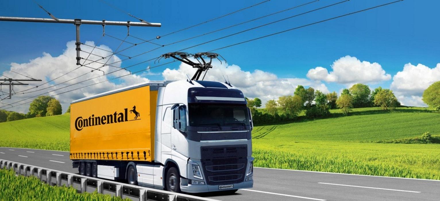 Siemens Mobility – Continental: Εισάγουν την τεχνολογία εναέριας τροφοδοσίας φορτηγών