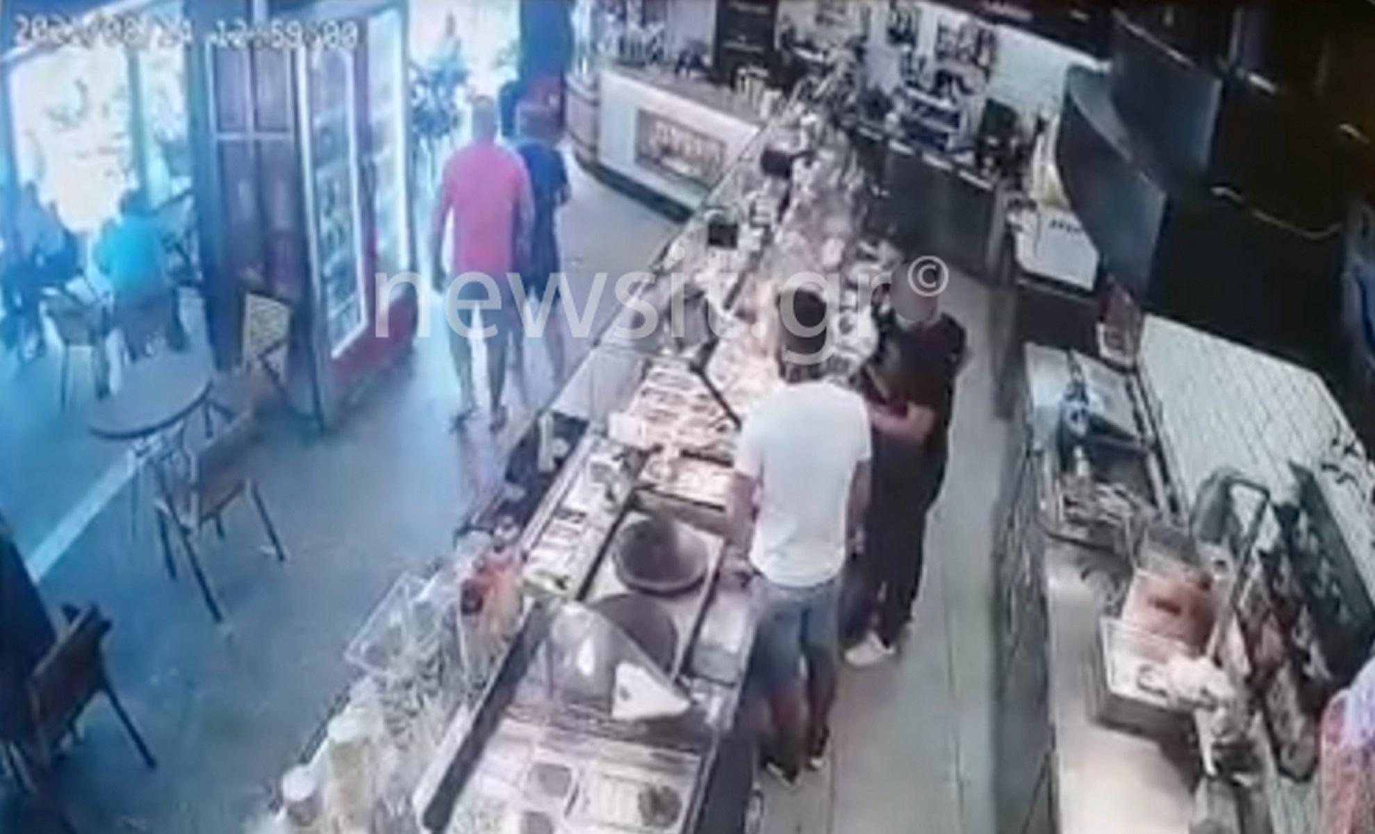 Γαλάτσι: Βίντεο ντοκουμέντο του Live News από τον διαπληκτισμό του 42χρονου που πυροβόλησε τον ντελιβερά