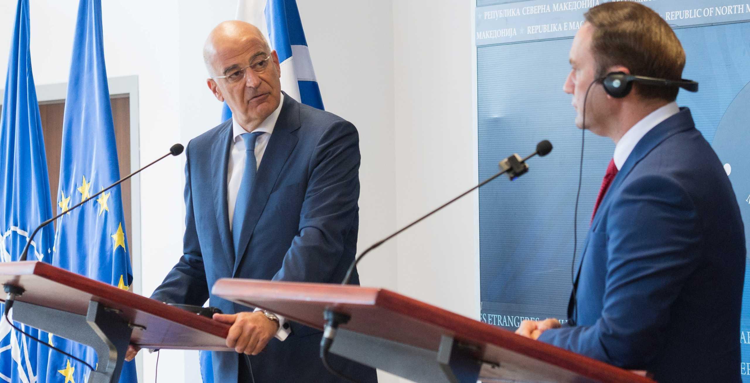 Δένδιας από Βόρεια Μακεδονία: Η Συμφωνία των Πρεσπών και τα «καρφιά» για την Τουρκία