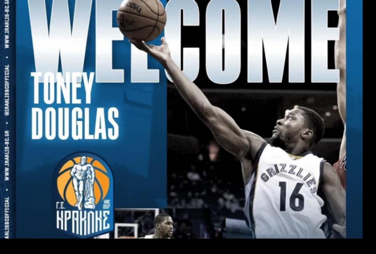 Ο Ηρακλής ανακοίνωσε τον πρώην NBAερ Τόνι Ντάγκλας