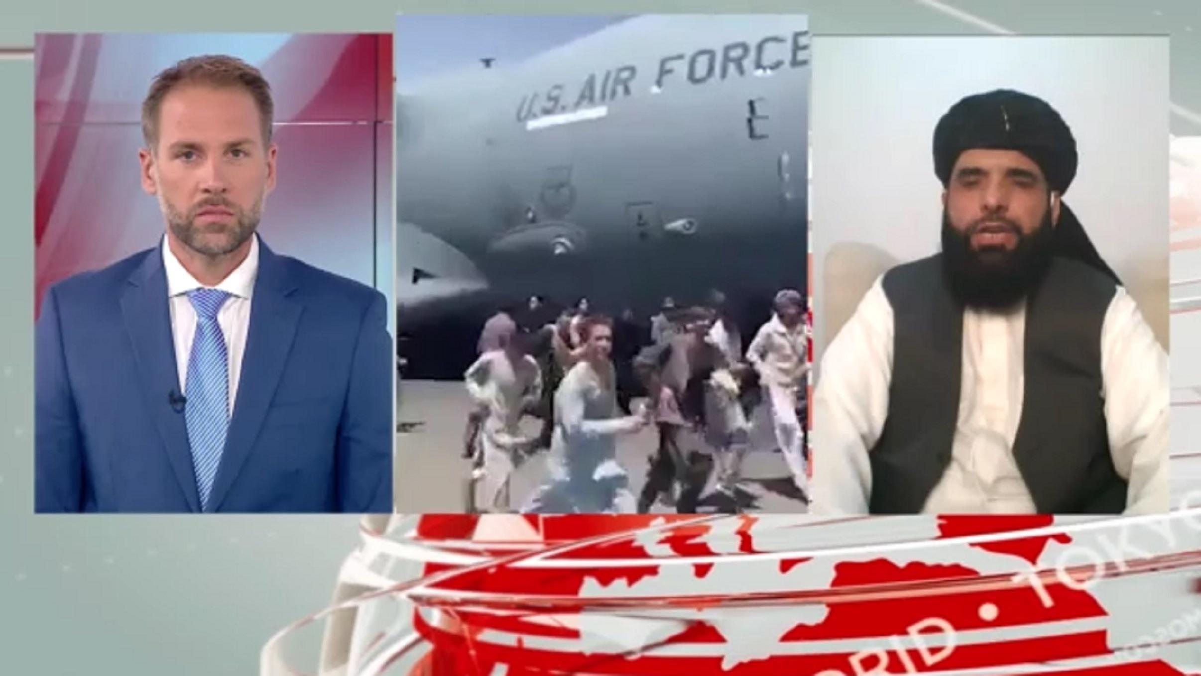Ο εκπρόσωπος των Ταλιμπάν σε αποκλειστική συνέντευξη στο Mega