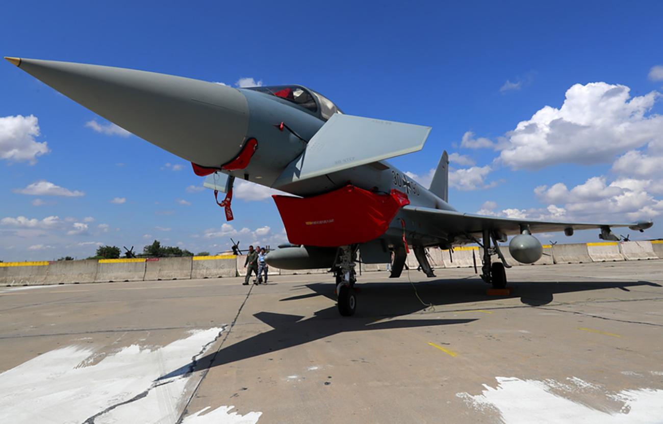 «Βόμβα» με πυραύλους Meteor στη Luftwaffe για τα μαχητικά Eurofighter Typhoon