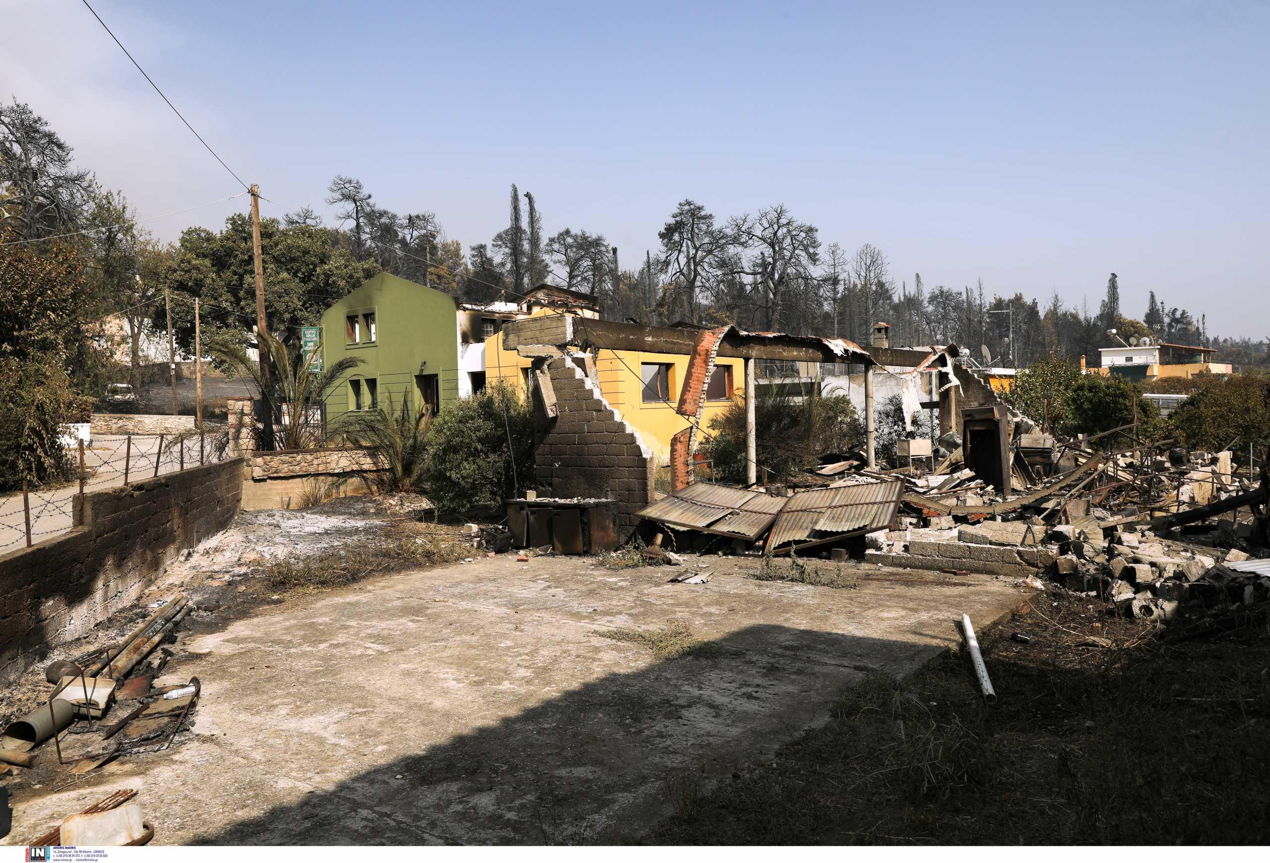 Φωτιά στην Εύβοια: «Δεν είδαμε ποτέ πυροσβεστικά μηχανήματα»