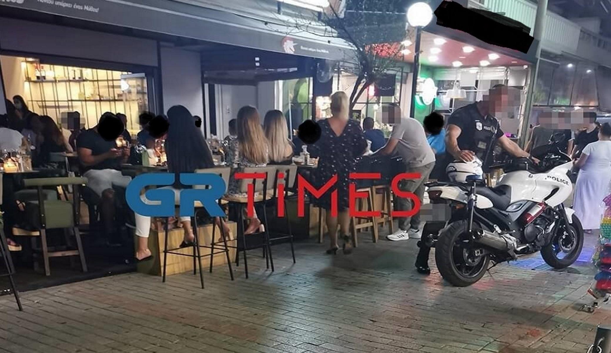 Θεσσαλονίκη: Βγήκε μαχαίρι σε καφέ μπαρ στον Εύοσμο – Κρατείται ο δράστης