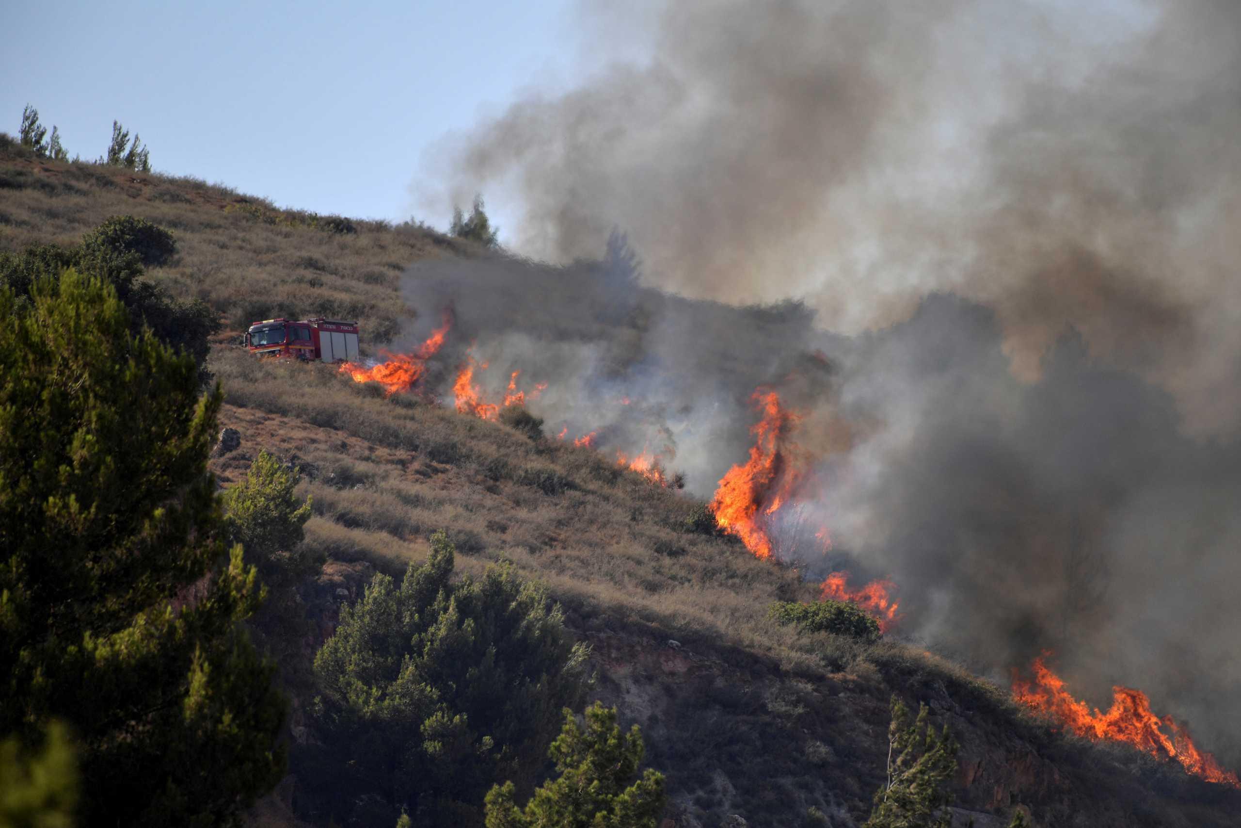 Μεγάλες πυρκαγιές μαίνονται στο Μαρόκο