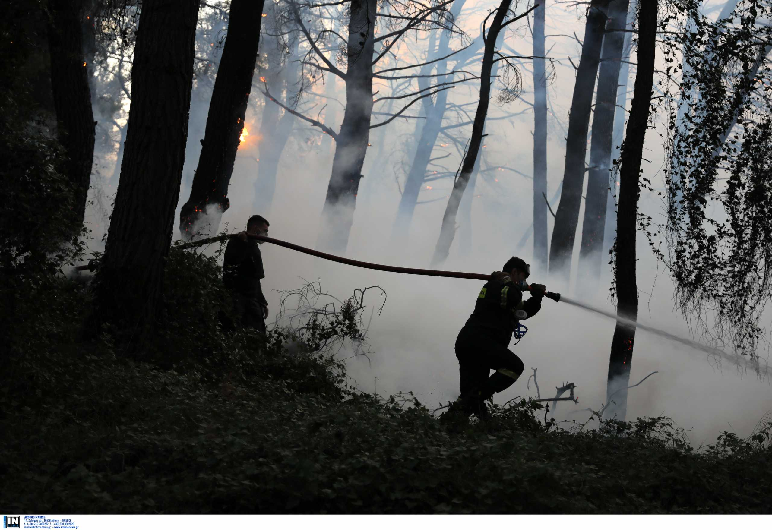 Φωτιά στη Γορτυνία: Δυσκολεύει η κατάσταση – Εστίες και στην Μάνη