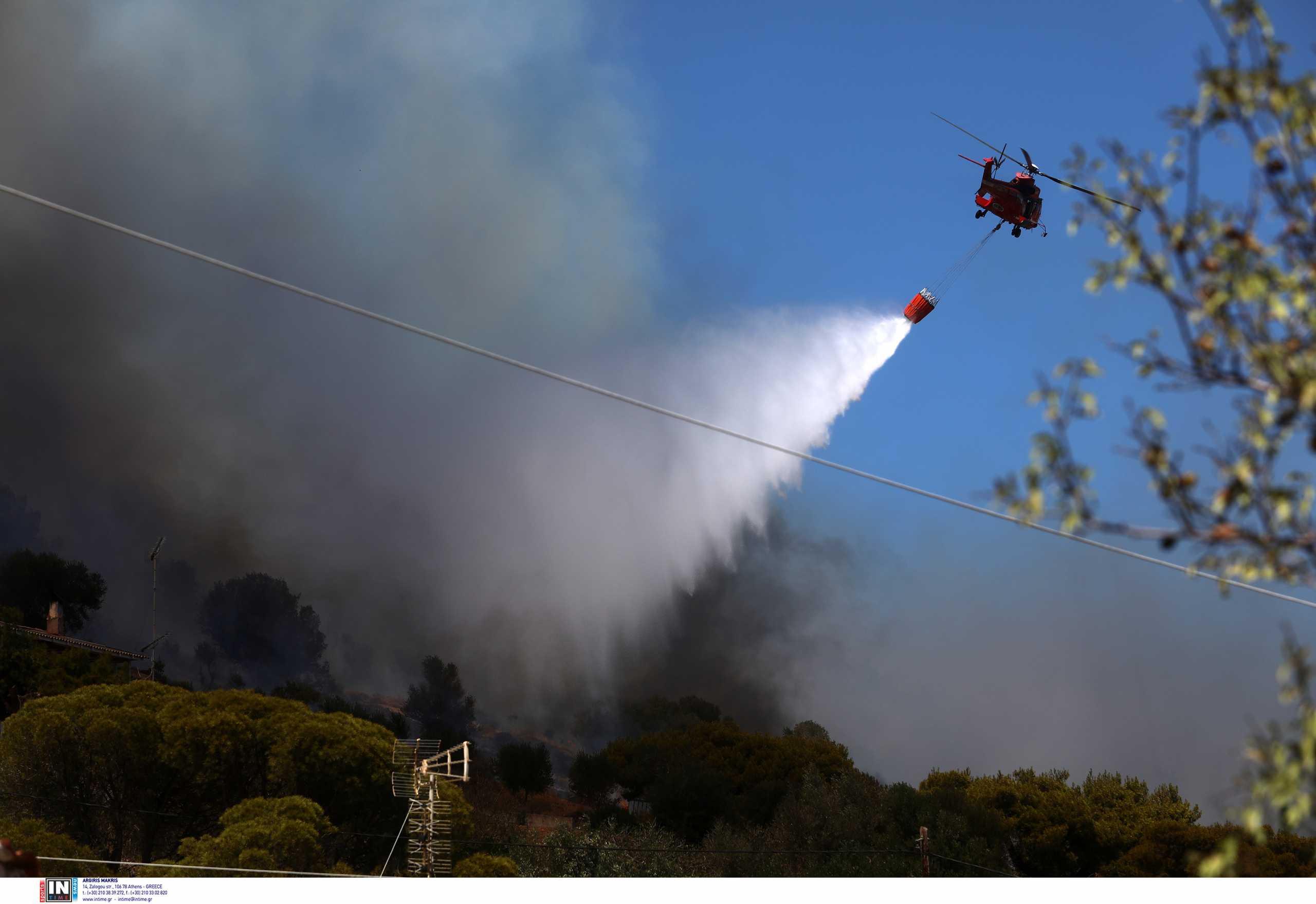 Φωτιά στα Βίλια: Υπάρχουν ενδείξεις εμπρησμού, λέει ο Δήμαρχος Μάνδρας