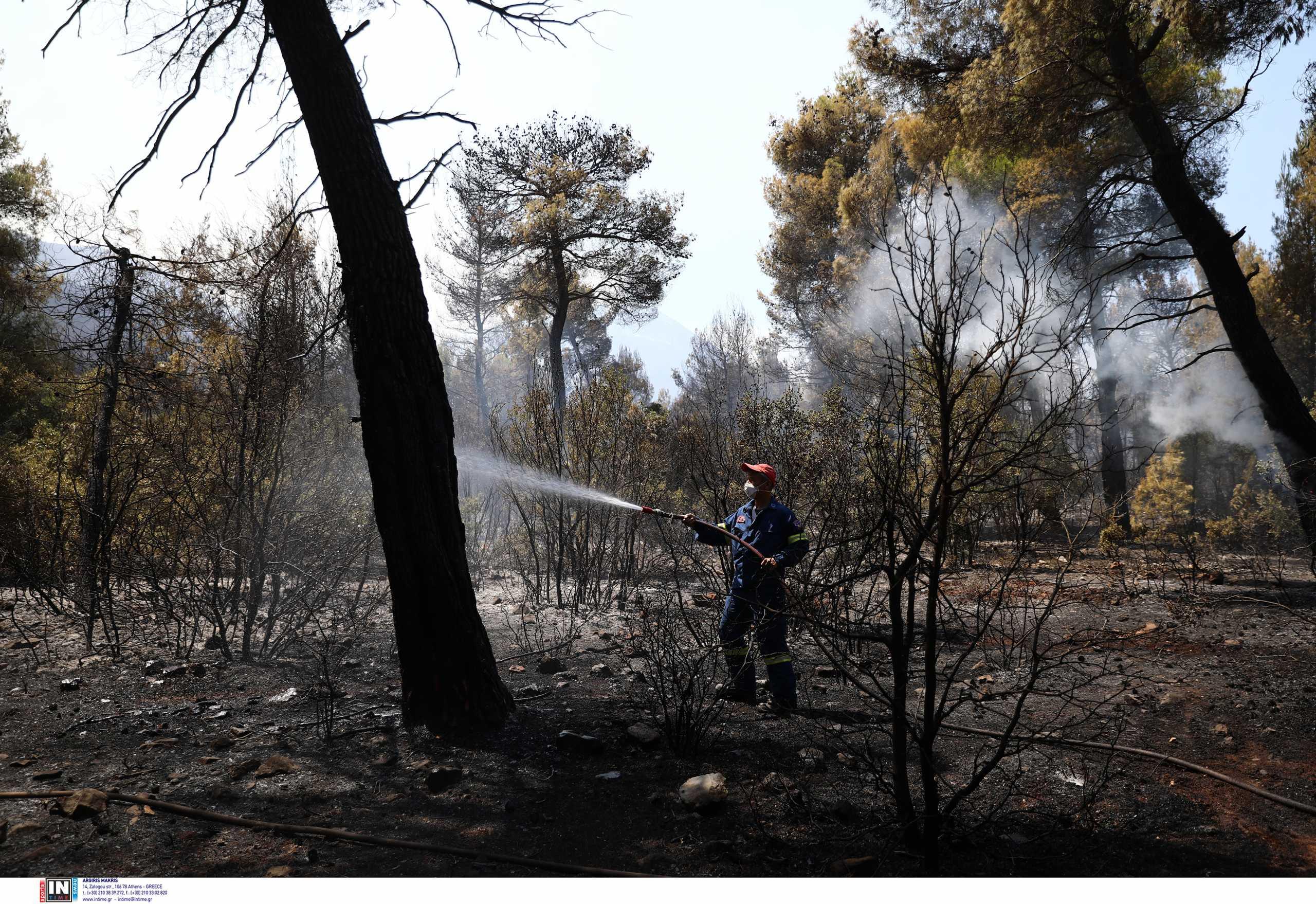 Μεσολόγγι: Περιορίστηκε η φωτιά εντός των ορίων του ΧΥΤΑ