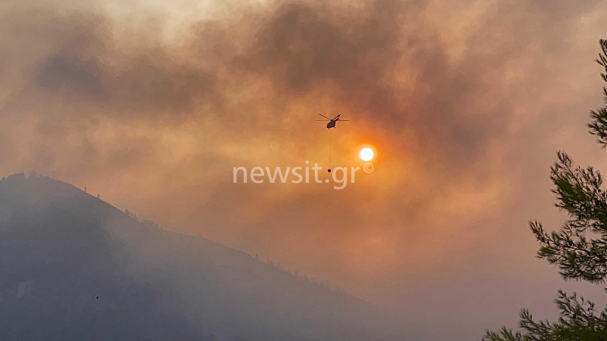 Φωτιές στην Ελλάδα: Εκατοντάδες ώρες πτήσης για τα πυροσβεστικά αεροσκάφη σε μόλις πέντε μέρες