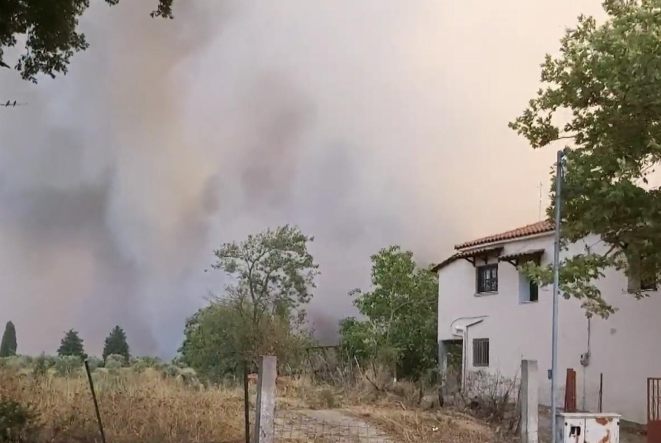 Εγκλωβισμένοι 150 άνθρωποι στο χωριό Κλαδέος - Το νέο  μήνυμα του 112