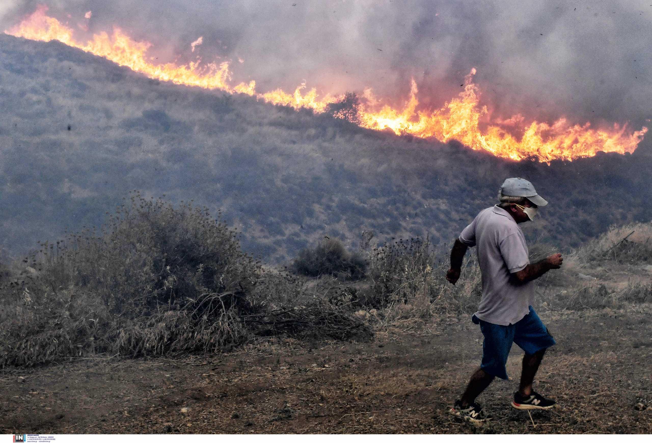 Αυξημένη η πιθανότητα σοβαρής νόσησης από κορονοϊό στις πυρόπληκτες περιοχές