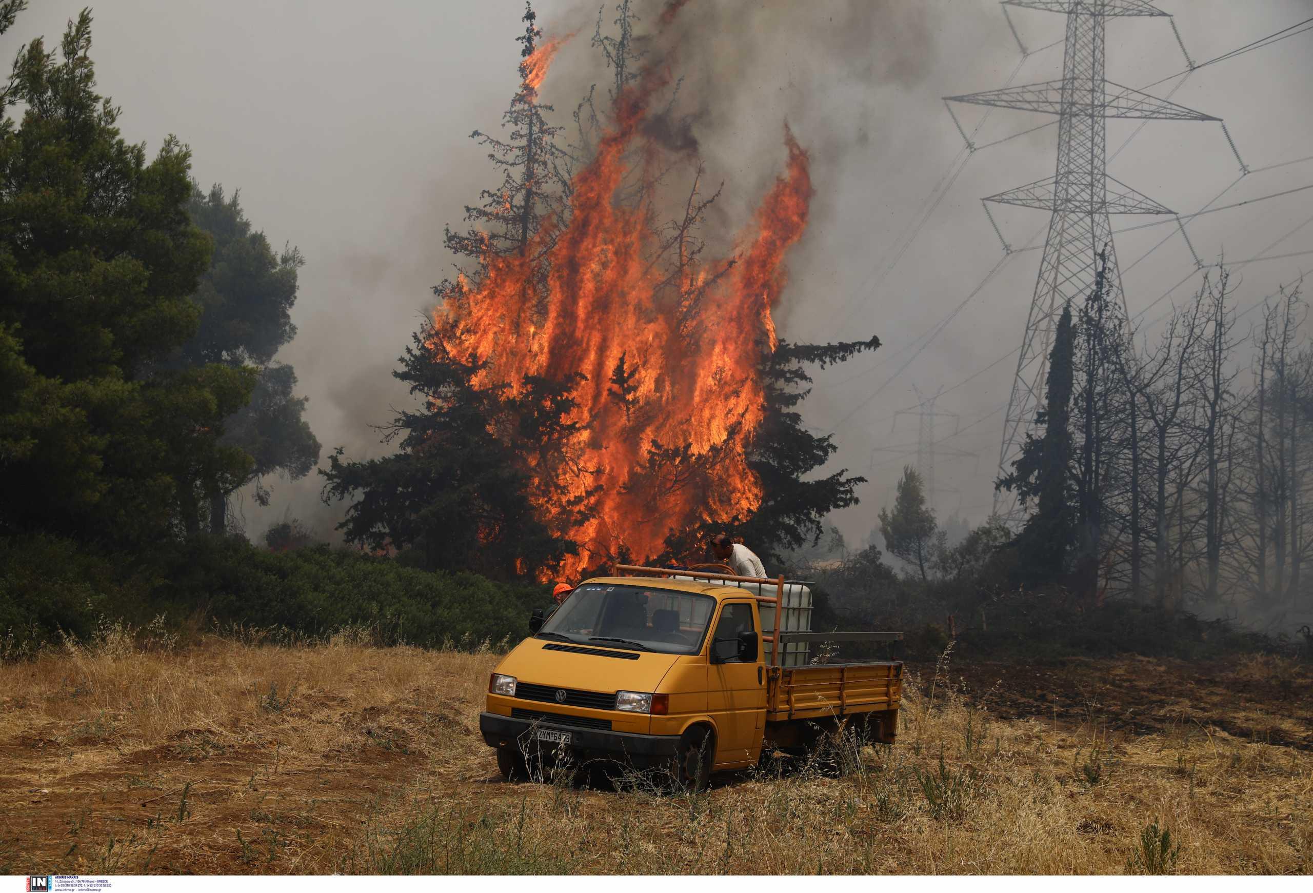 Νίκος Χαρδαλιάς: Έκτακτη ενημέρωση για τις φωτιές (06/08)