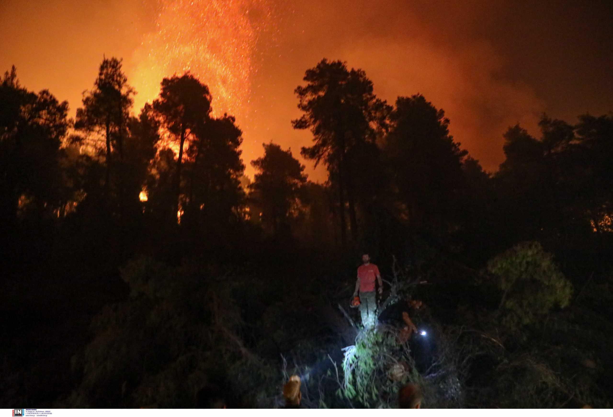 Φωτιά στην Εύβοια: Ο εφιάλτης συνεχίζεται για όγδοη ημέρα