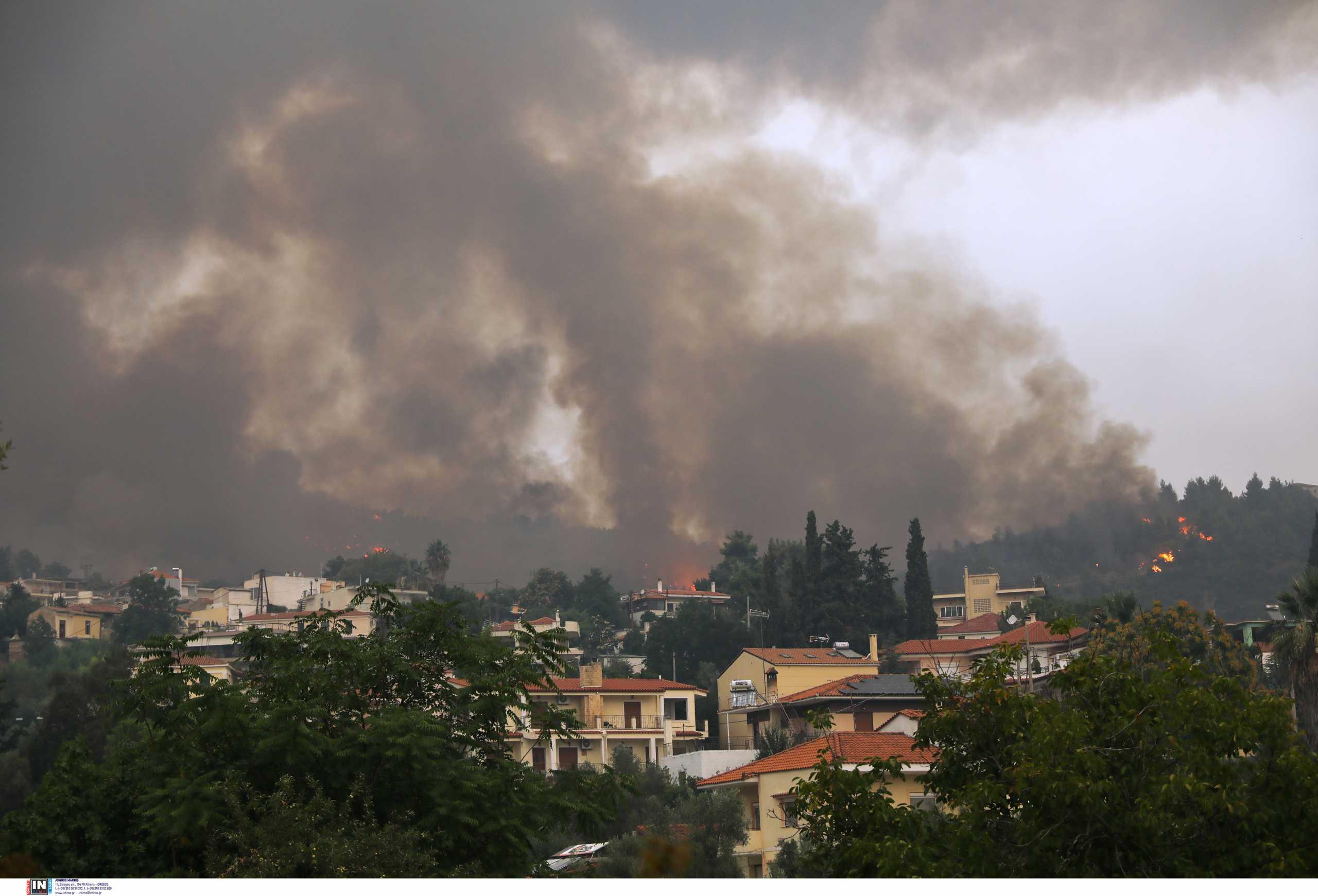 Φωτιές: Πού υπάρχει υψηλός κίνδυνος πυρκαγιάς σήμερα
