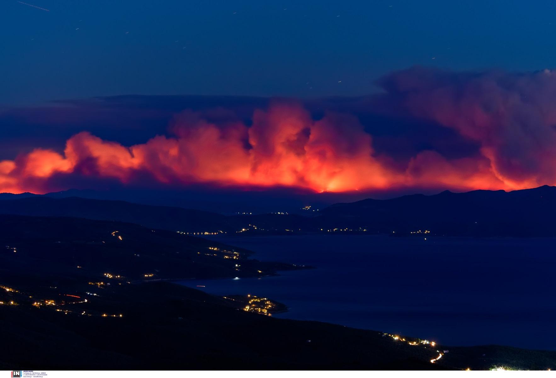Φωτιές – Πολιτική Προστασία: Για ποιες περιοχές υπάρχει υψηλός κίνδυνος την Τετάρτη 18/08