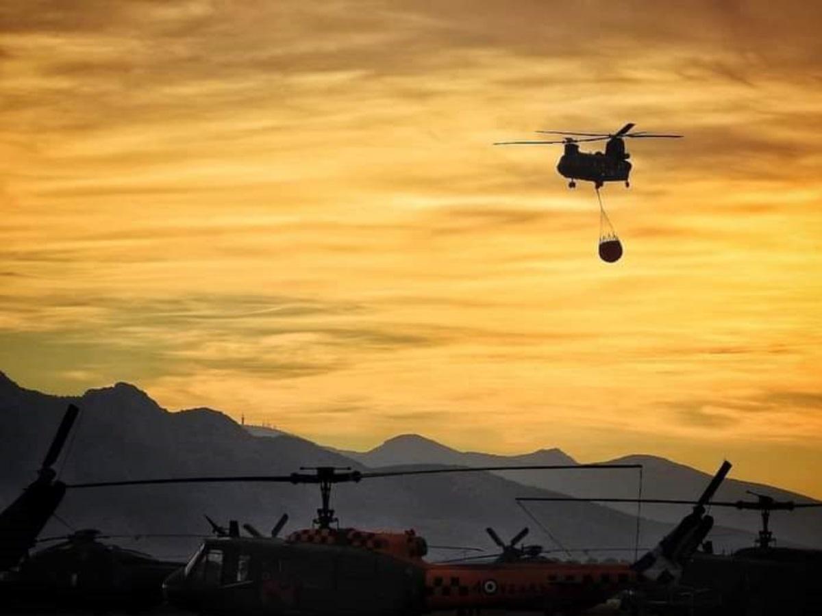 Φωτιά στην Αττική: Η μάχη των Αφιδνών και η επιχείρηση κατάσβεσης – Εικόνες μέσα από τα πιλοτήρια