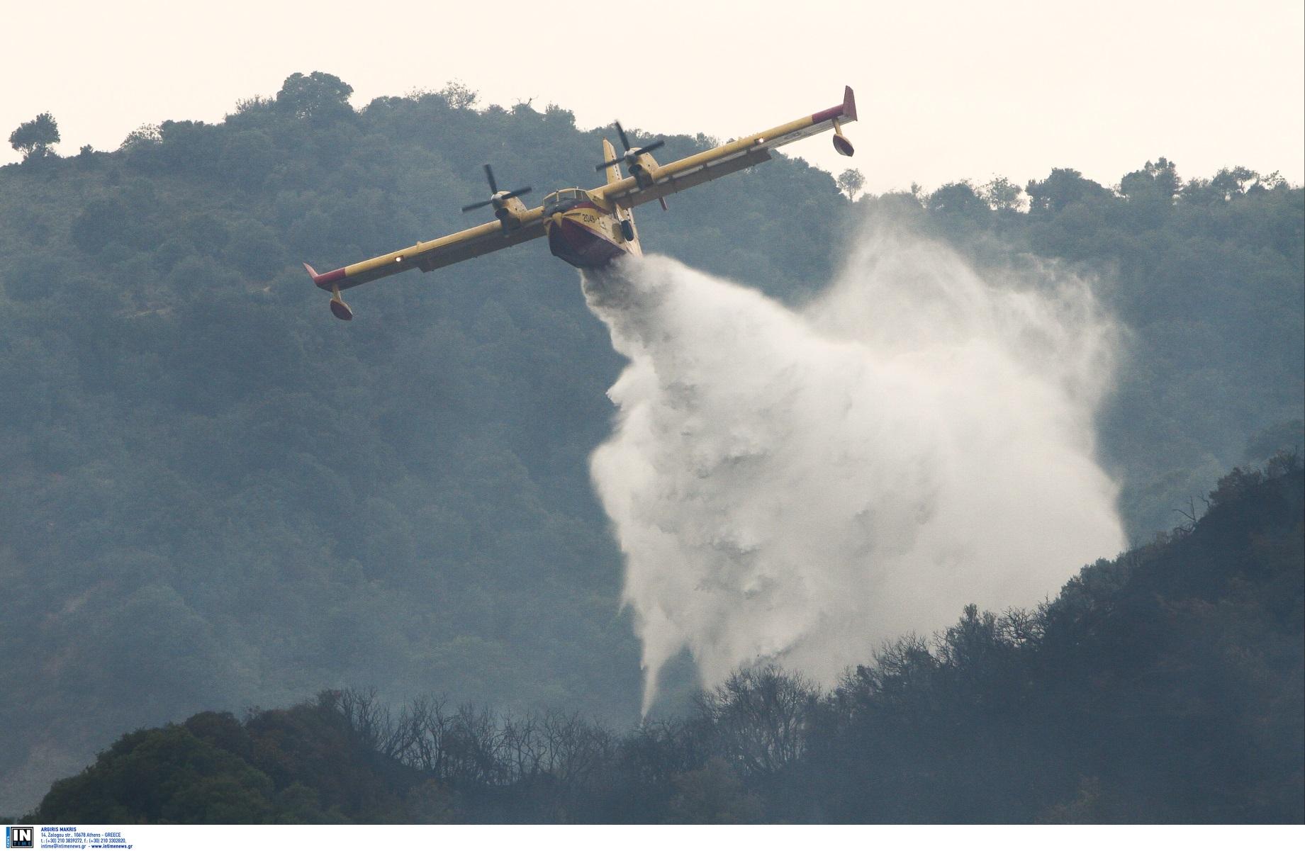 Χαλκιδική: Καλύτερη η εικόνα από την φωτιά στην Φούρκα – Το tweet του Μαργαρίτη Σχοινά